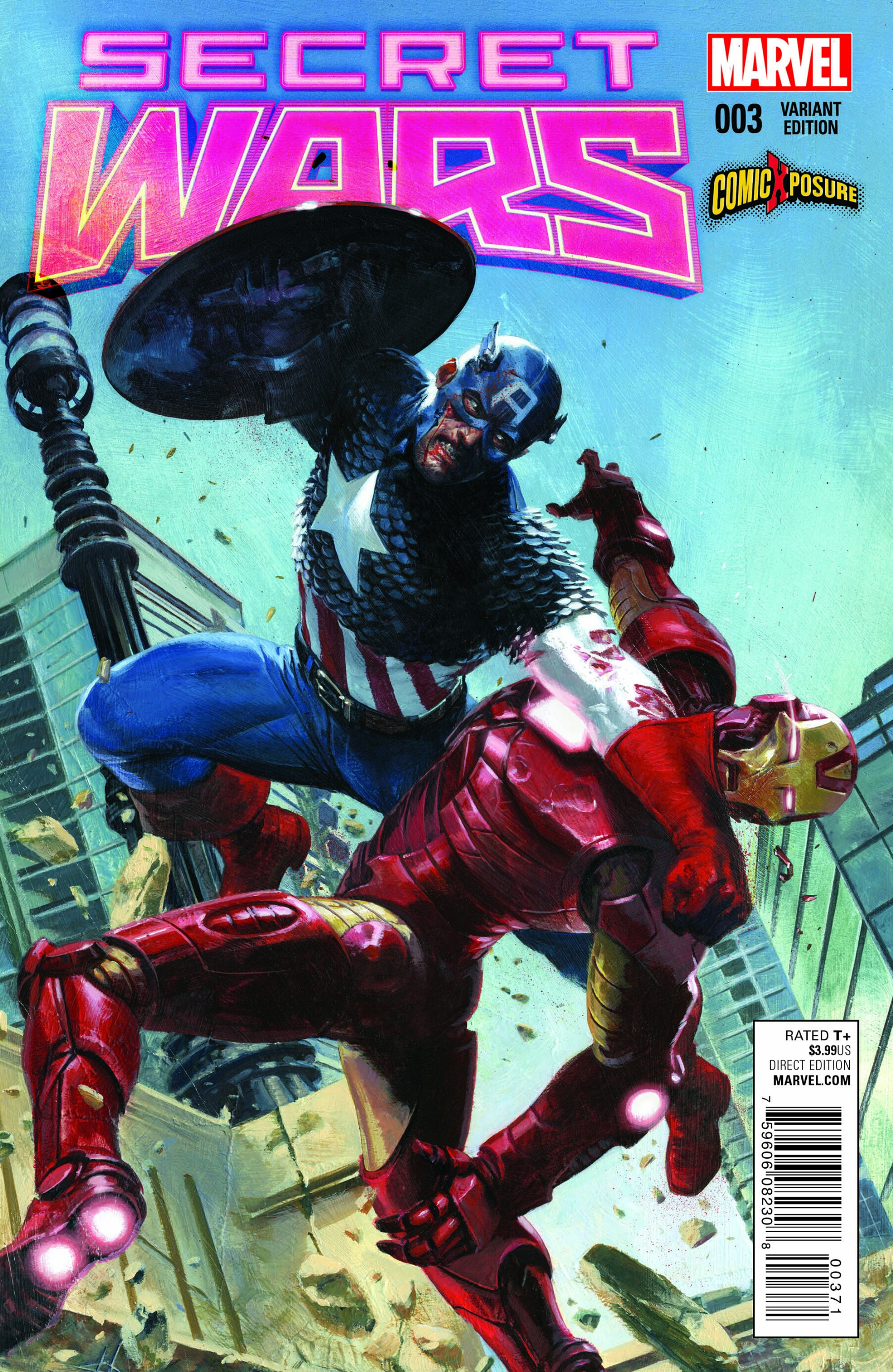 Read online Secret Wars comic -  Issue #3 - 3