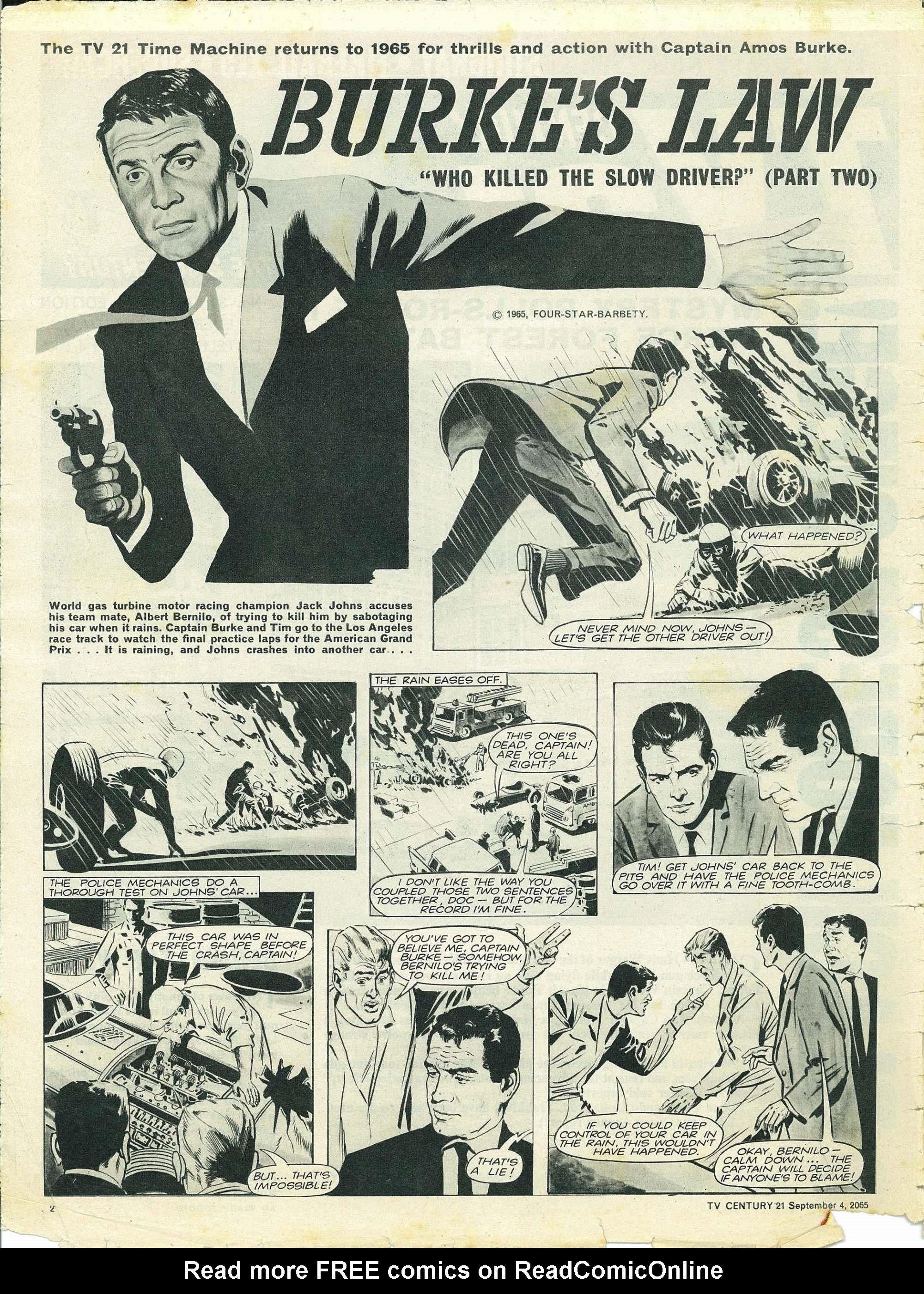 Read online TV Century 21 (TV 21) comic -  Issue #33 - 2