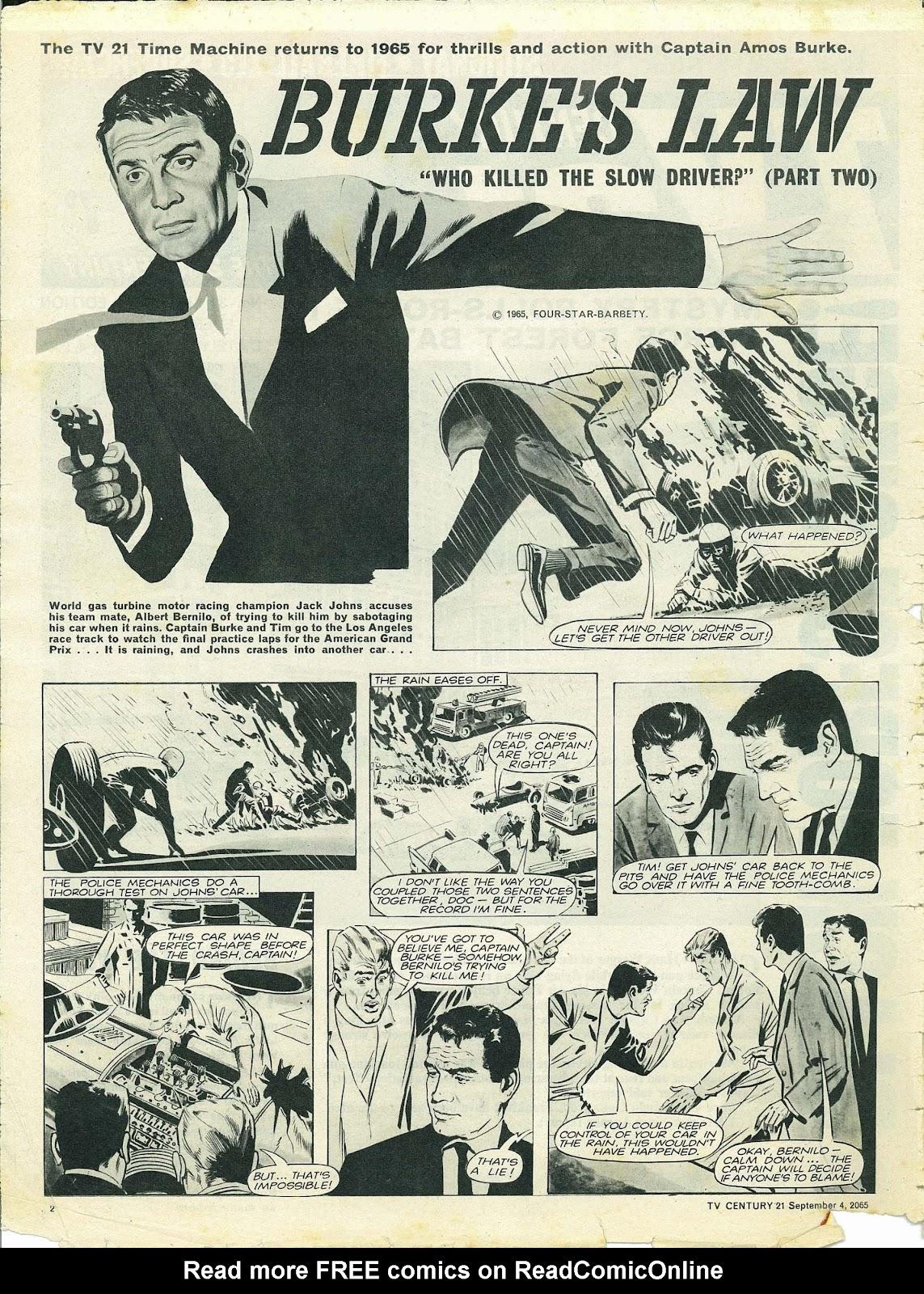 TV Century 21 (TV 21) issue 33 - Page 2