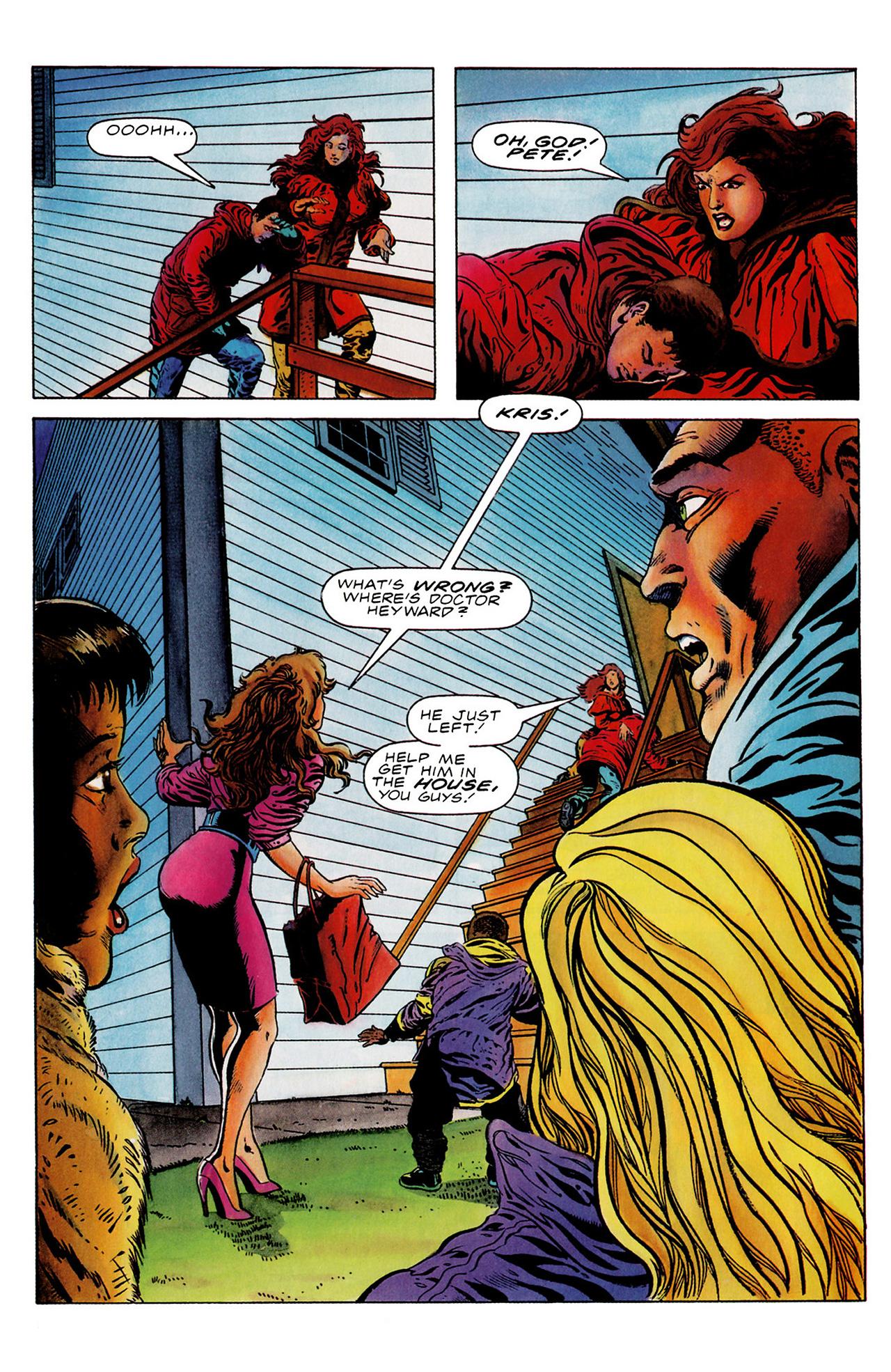 Read online Harbinger (1992) comic -  Issue #18 - 12