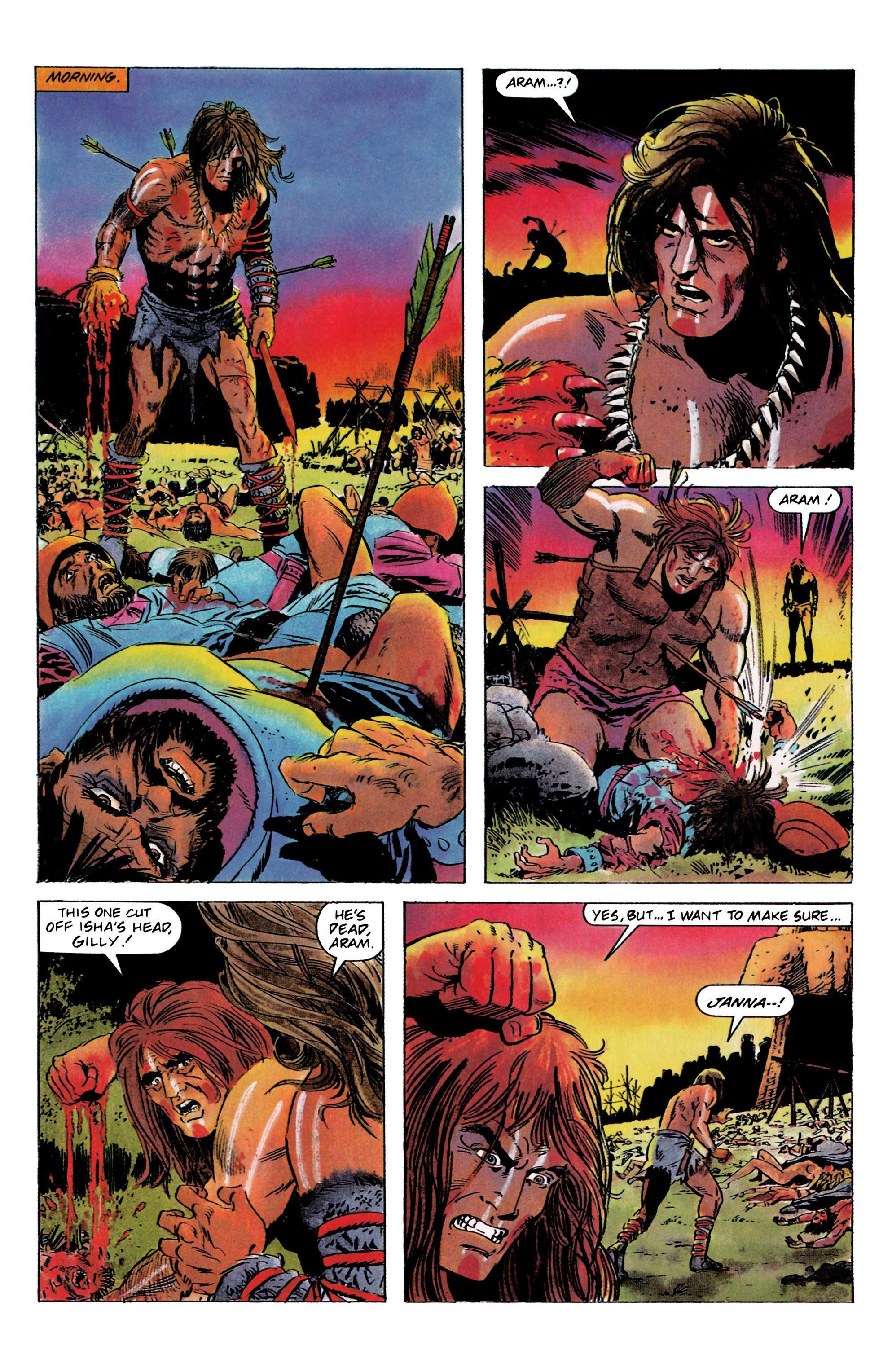 Read online Eternal Warrior (1992) comic -  Issue #1 - 14