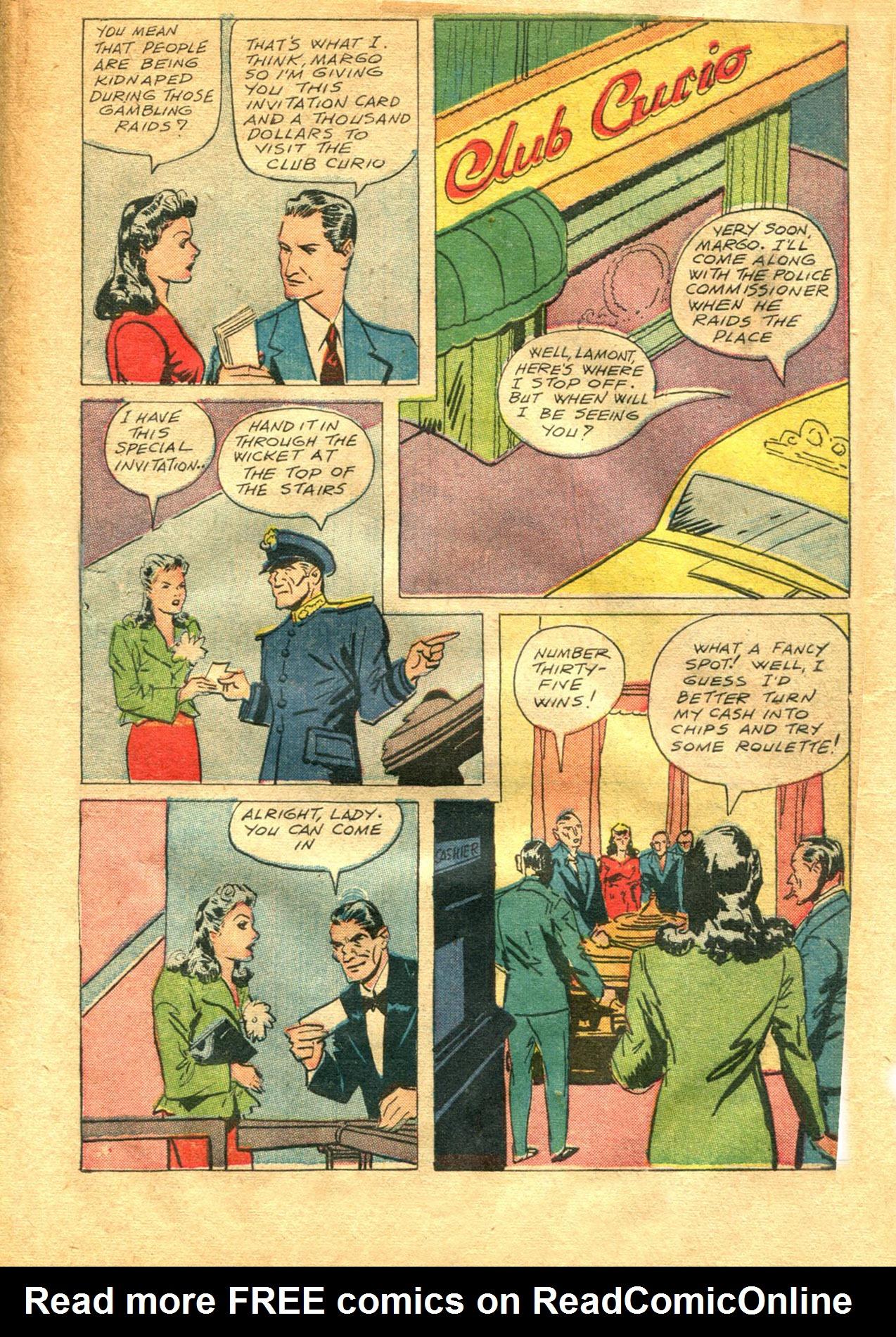 Read online Shadow Comics comic -  Issue #48 - 5