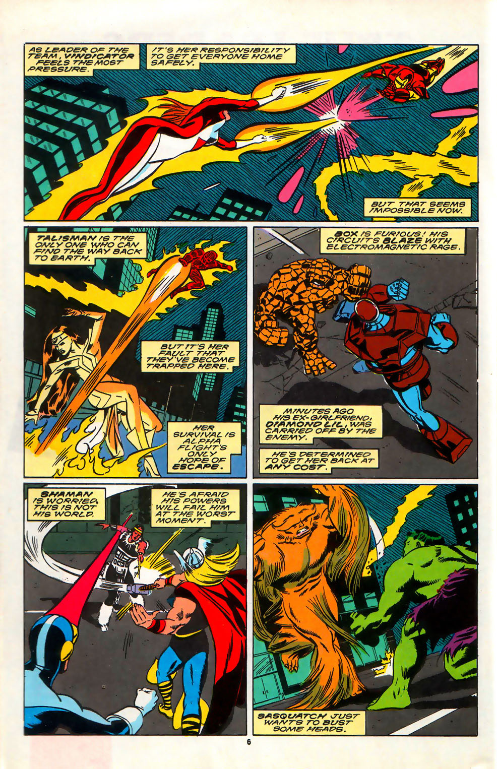 Read online Alpha Flight (1983) comic -  Issue #75 - 7
