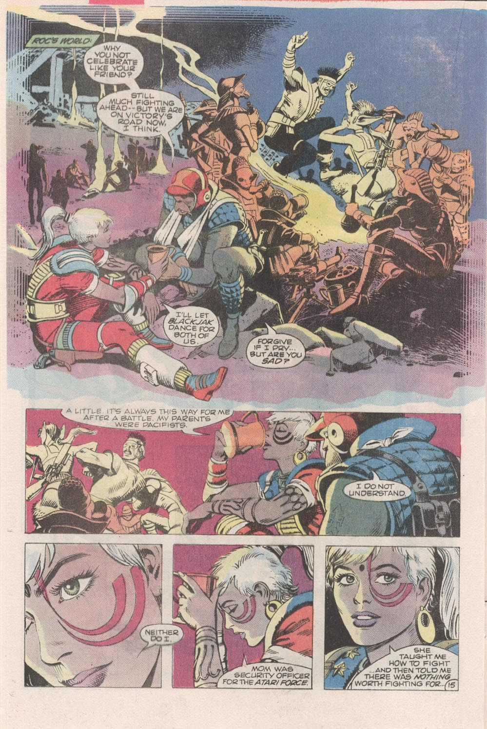 Read online Atari Force (1984) comic -  Issue #2 - 17