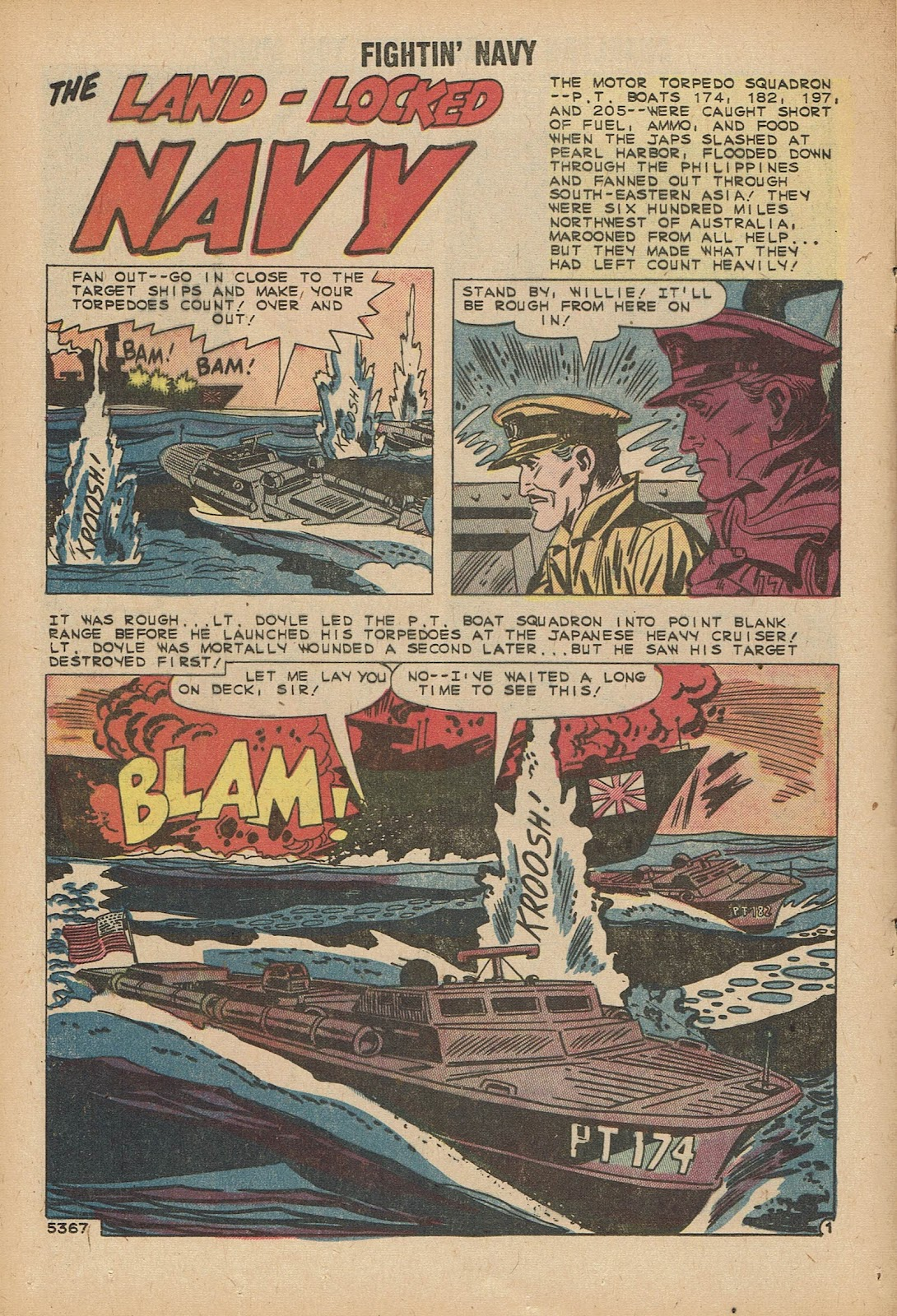 Read online Fightin' Navy comic -  Issue #92 - 12