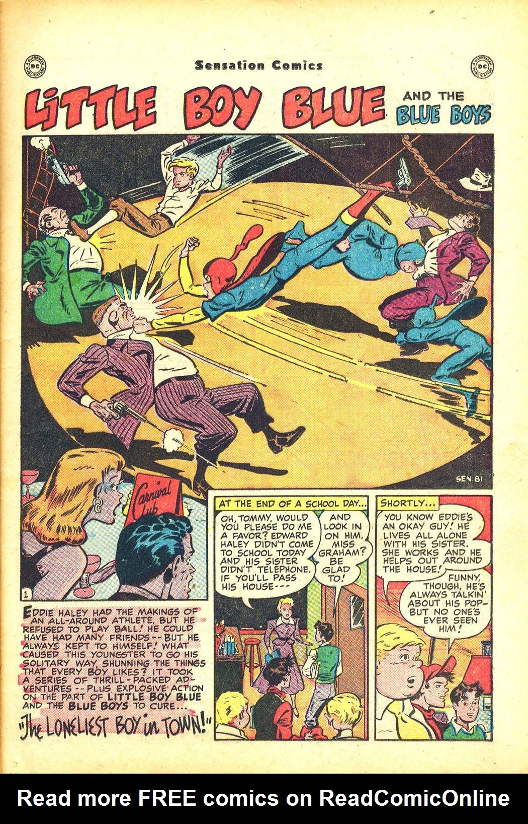 Read online Sensation (Mystery) Comics comic -  Issue #81 - 17
