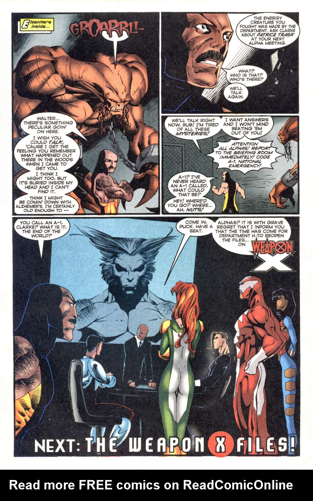 Read online Alpha Flight (1997) comic -  Issue #7 - 25