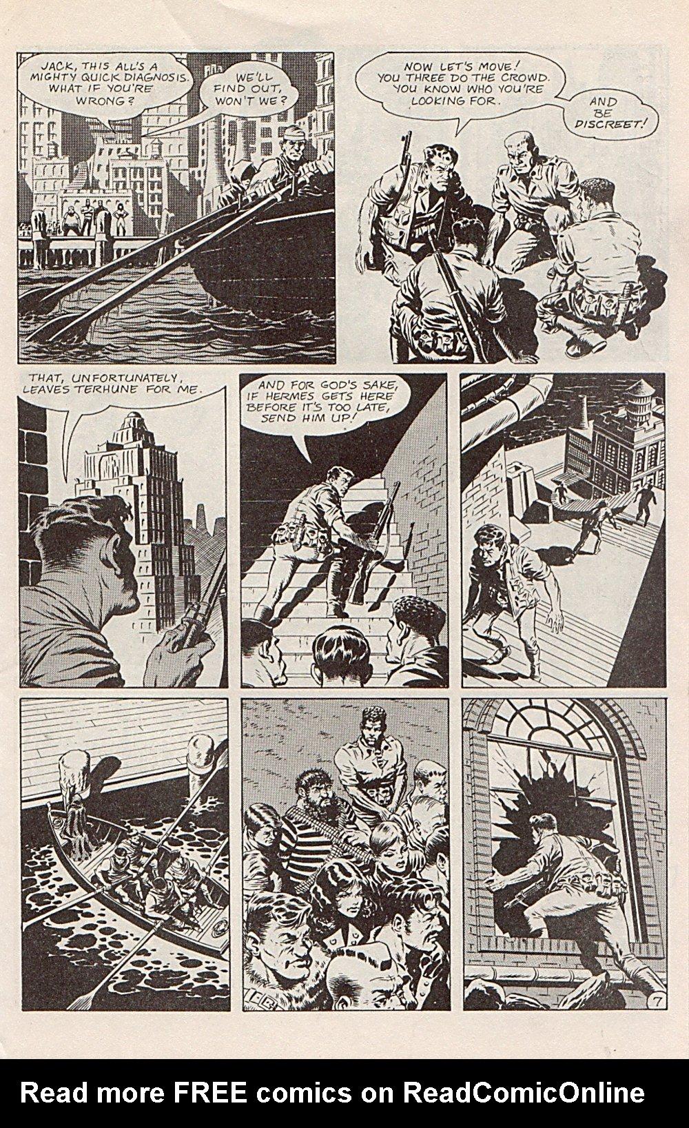 Read online Xenozoic Tales comic -  Issue #1 - 10