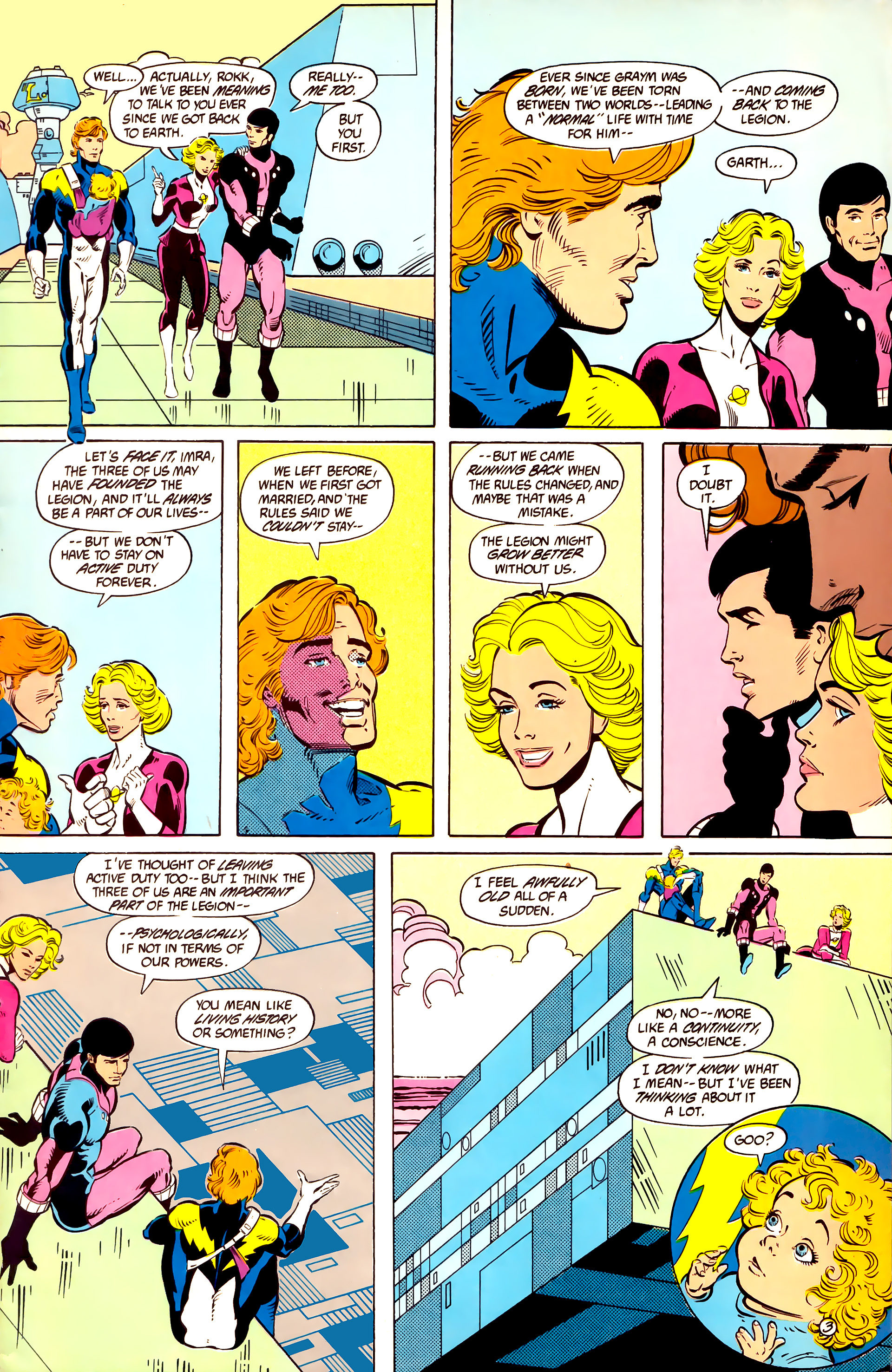 Legion of Super-Heroes (1984) 11 Page 4