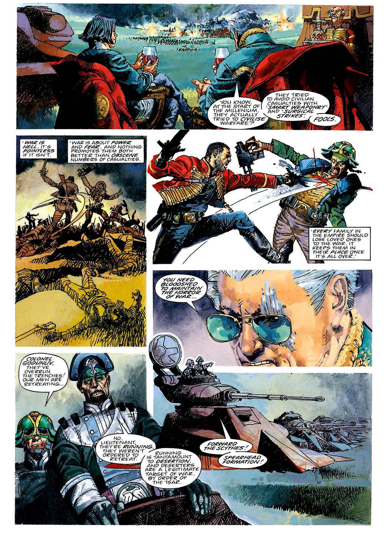 Read online Nikolai Dante comic -  Issue # TPB 4 - 12