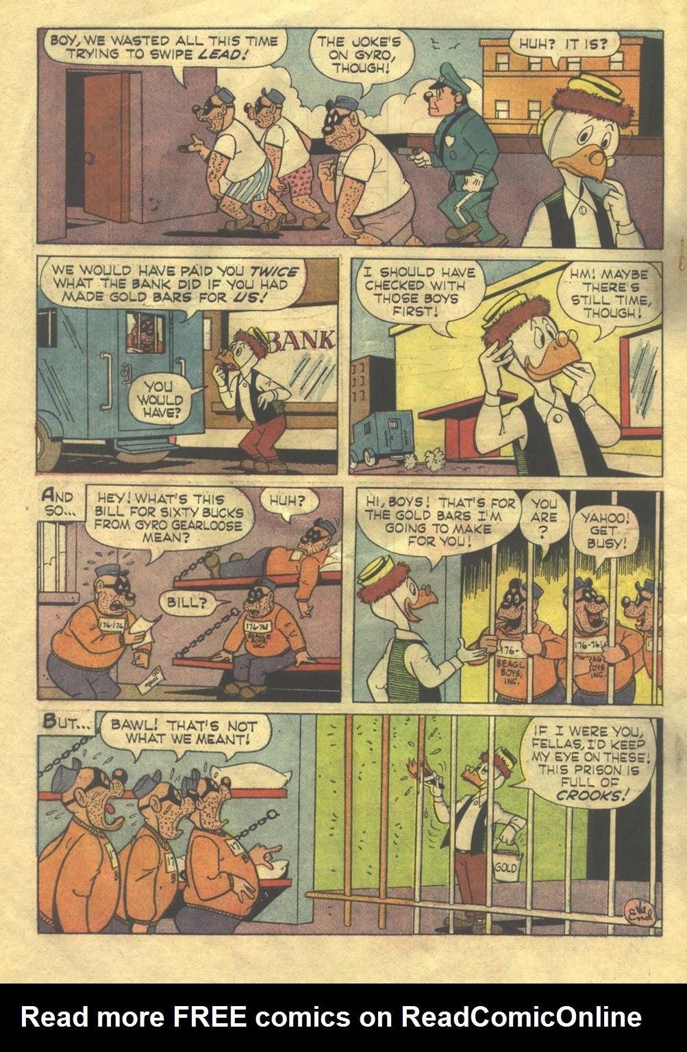 Walt Disney THE BEAGLE BOYS issue 2 - Page 34
