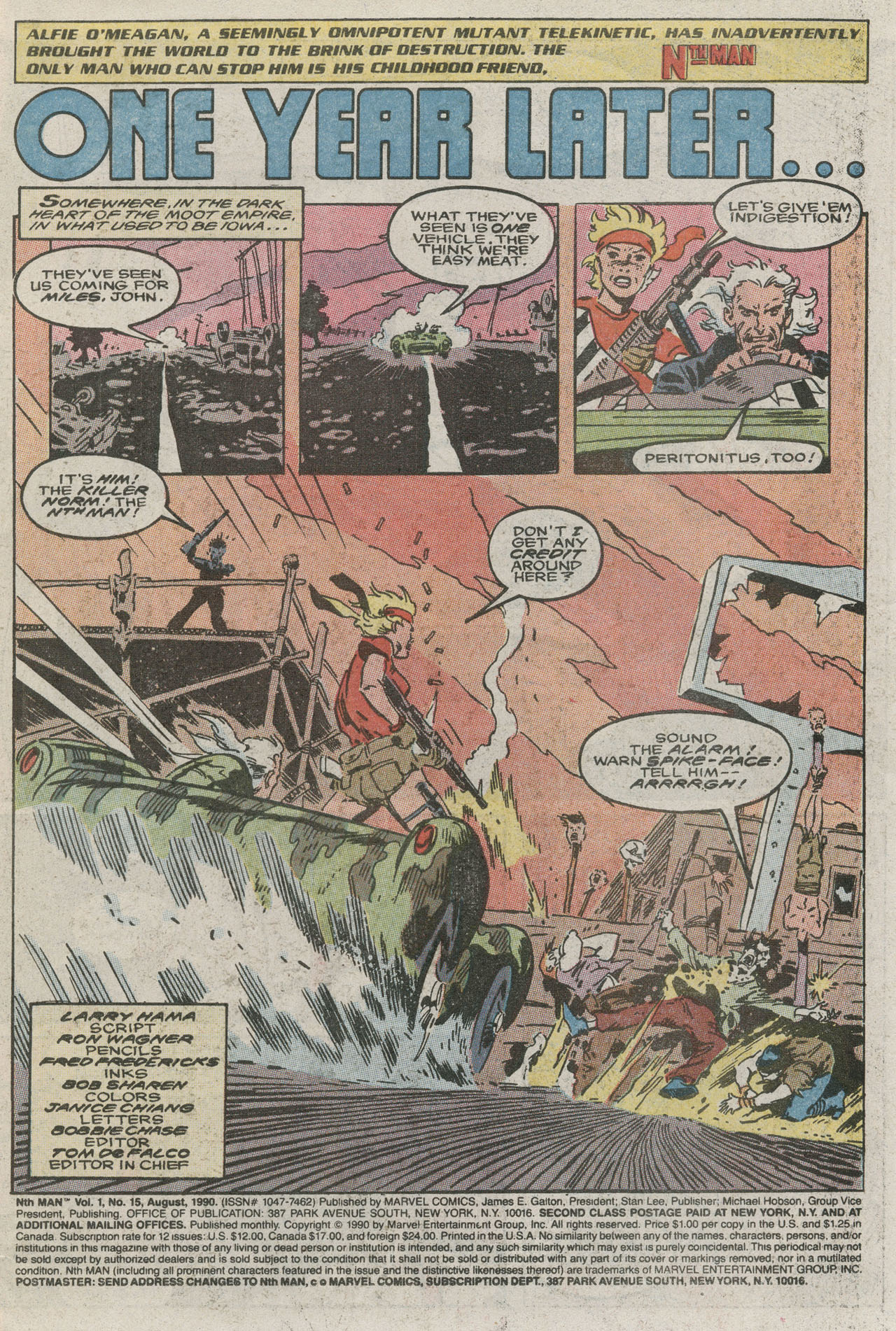Read online Nth Man the Ultimate Ninja comic -  Issue #15 - 3