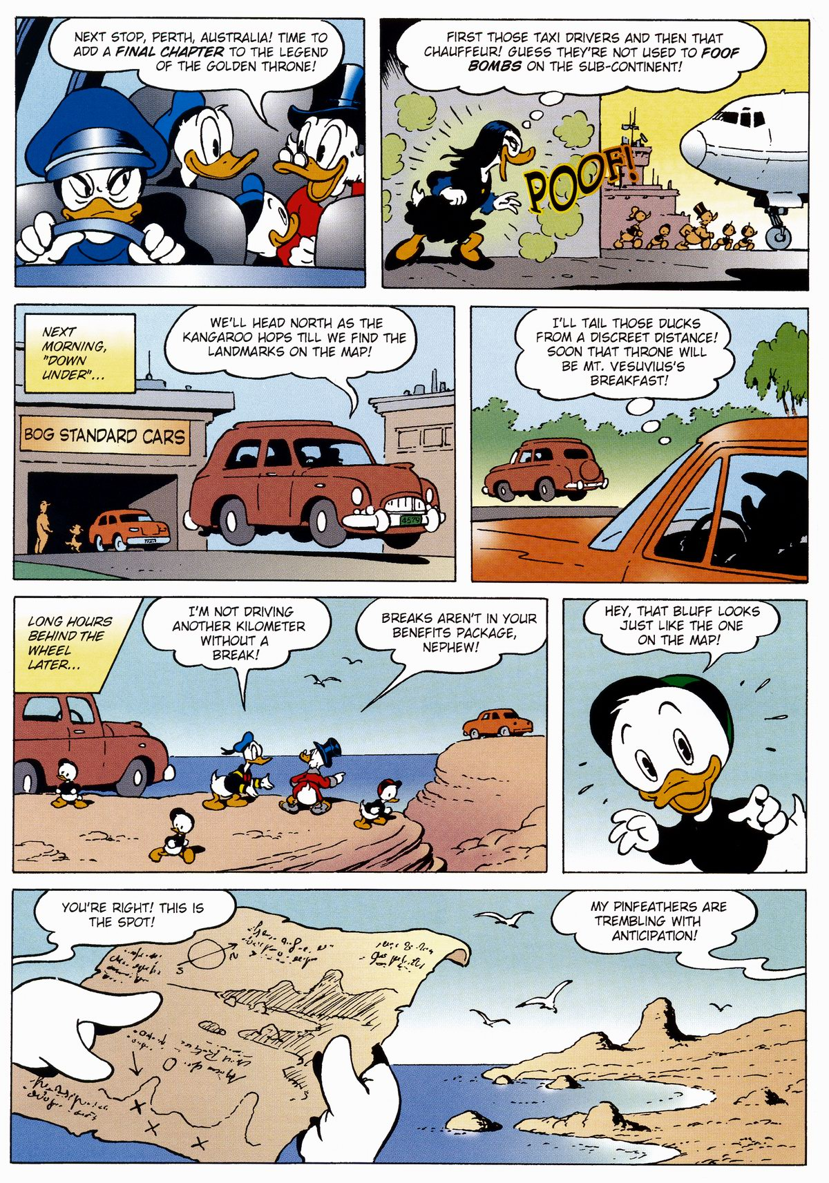 Read online Uncle Scrooge (1953) comic -  Issue #327 - 10