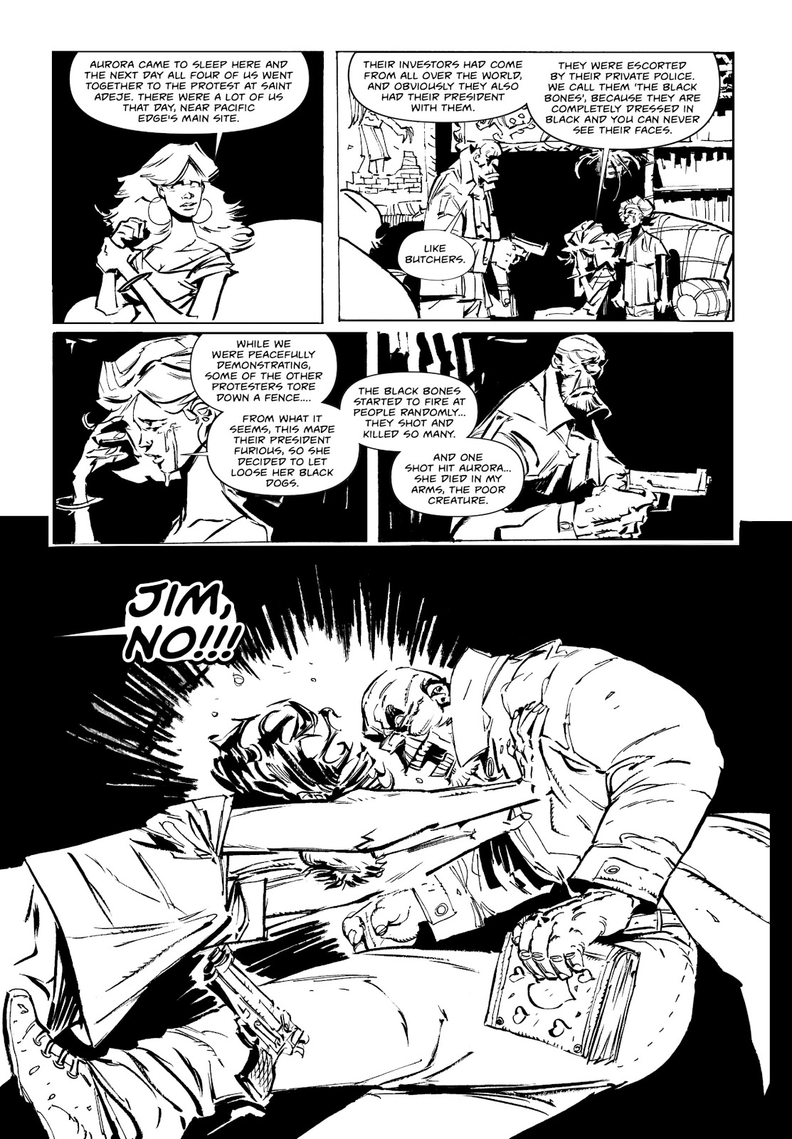 Read online Wrath of God comic -  Issue # _TPB - 36