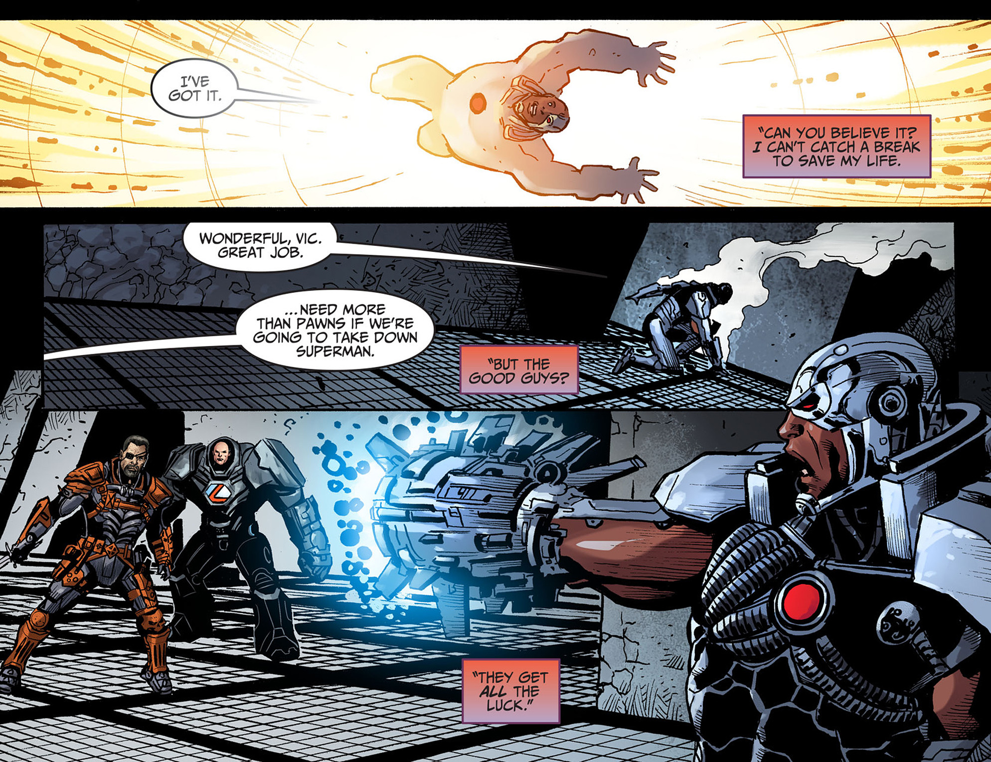 Read online Injustice: Ground Zero comic -  Issue #13 - 9