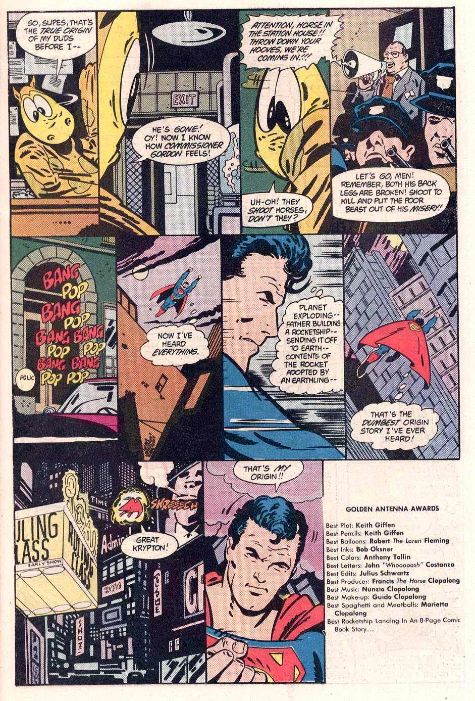 Read online Action Comics (1938) comic -  Issue #563 - 9