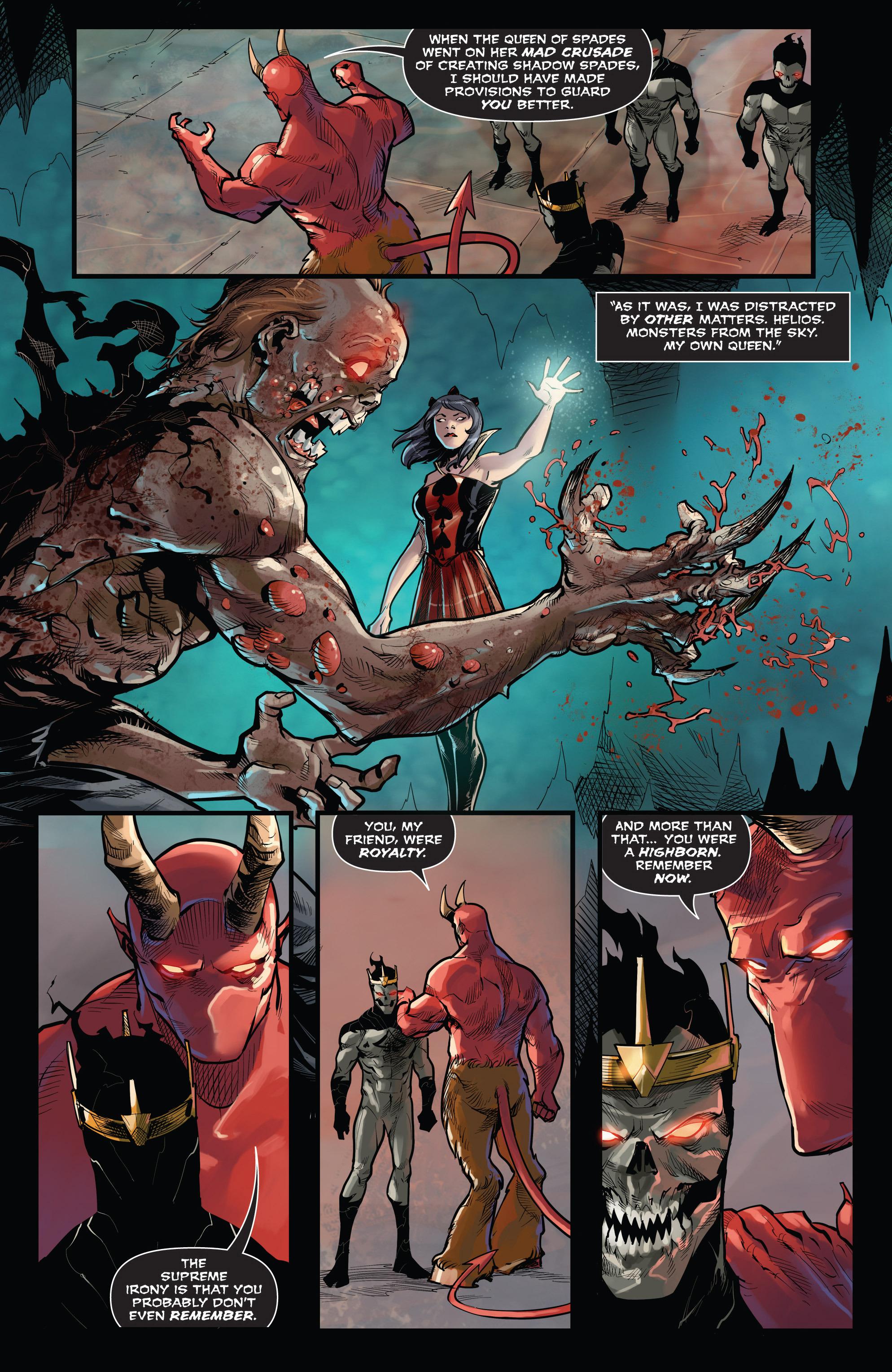 Read online Grimm Fairy Tales vs. Wonderland comic -  Issue #3 - 10
