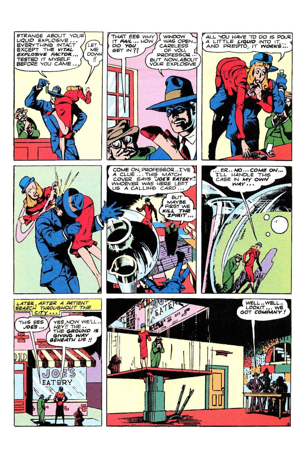 Read online Will Eisner's The Spirit Archives comic -  Issue # TPB 2 (Part 2) - 32