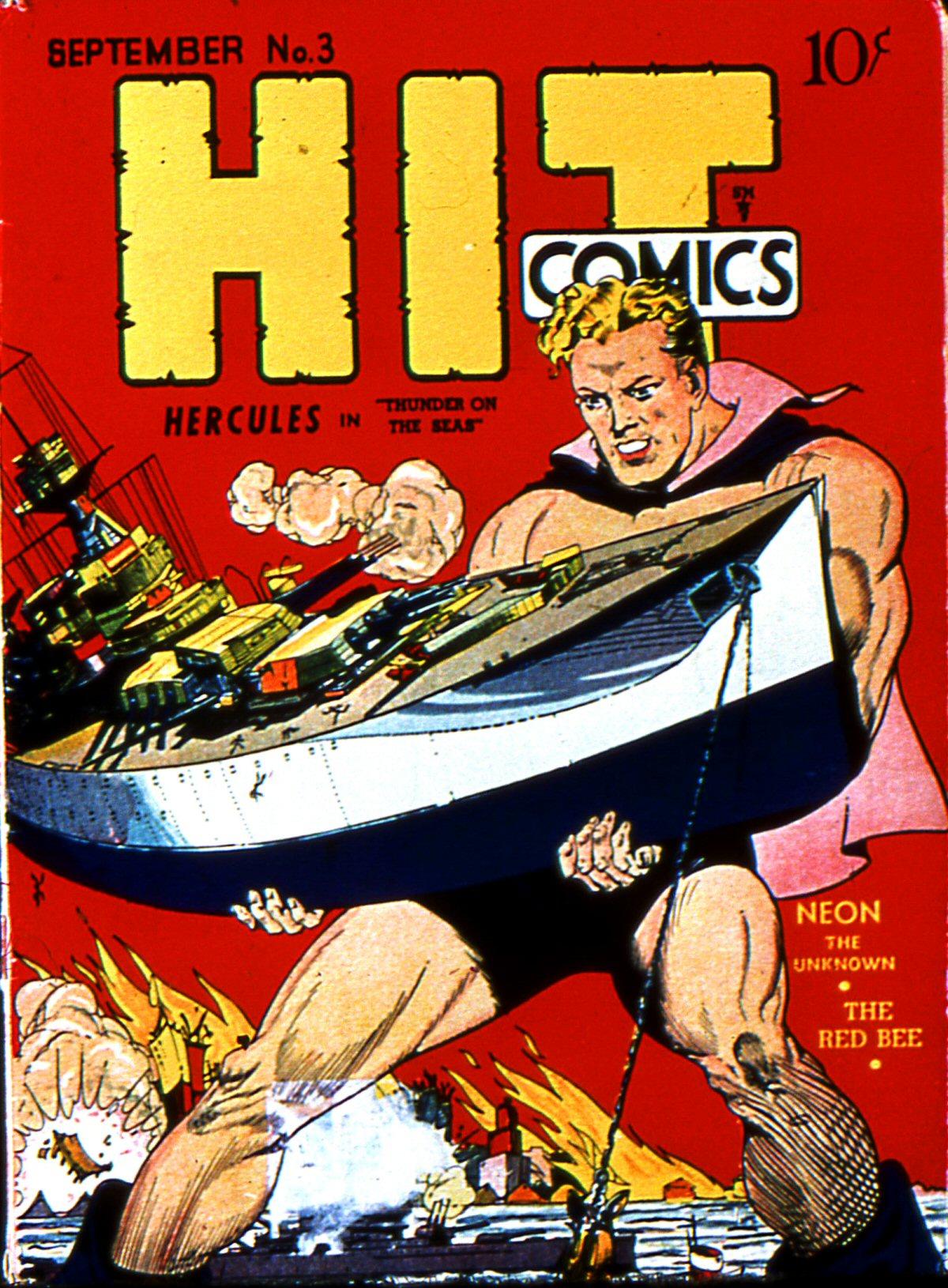 Read online Hit Comics comic -  Issue #3 - 1