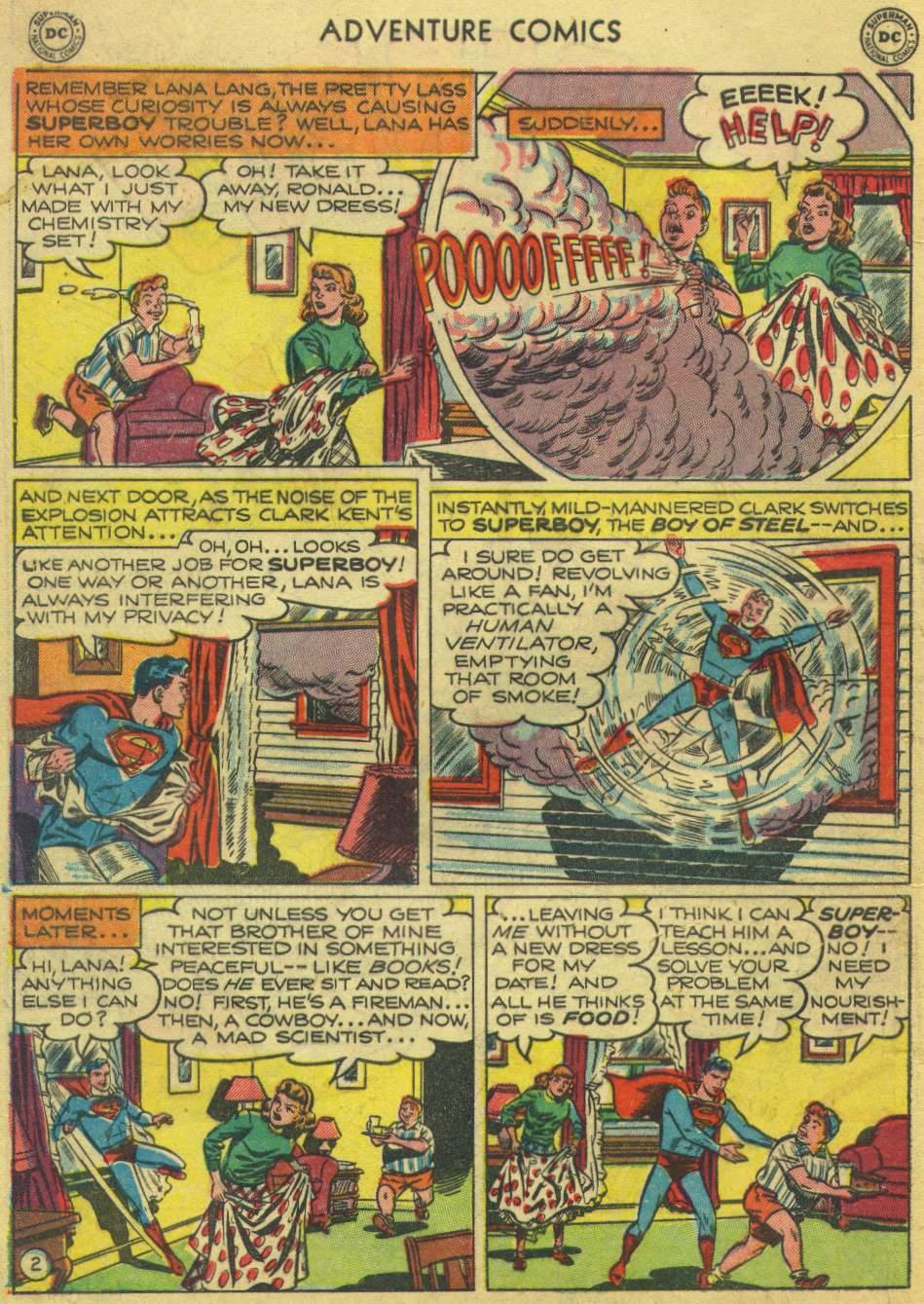 Read online Adventure Comics (1938) comic -  Issue #168 - 4