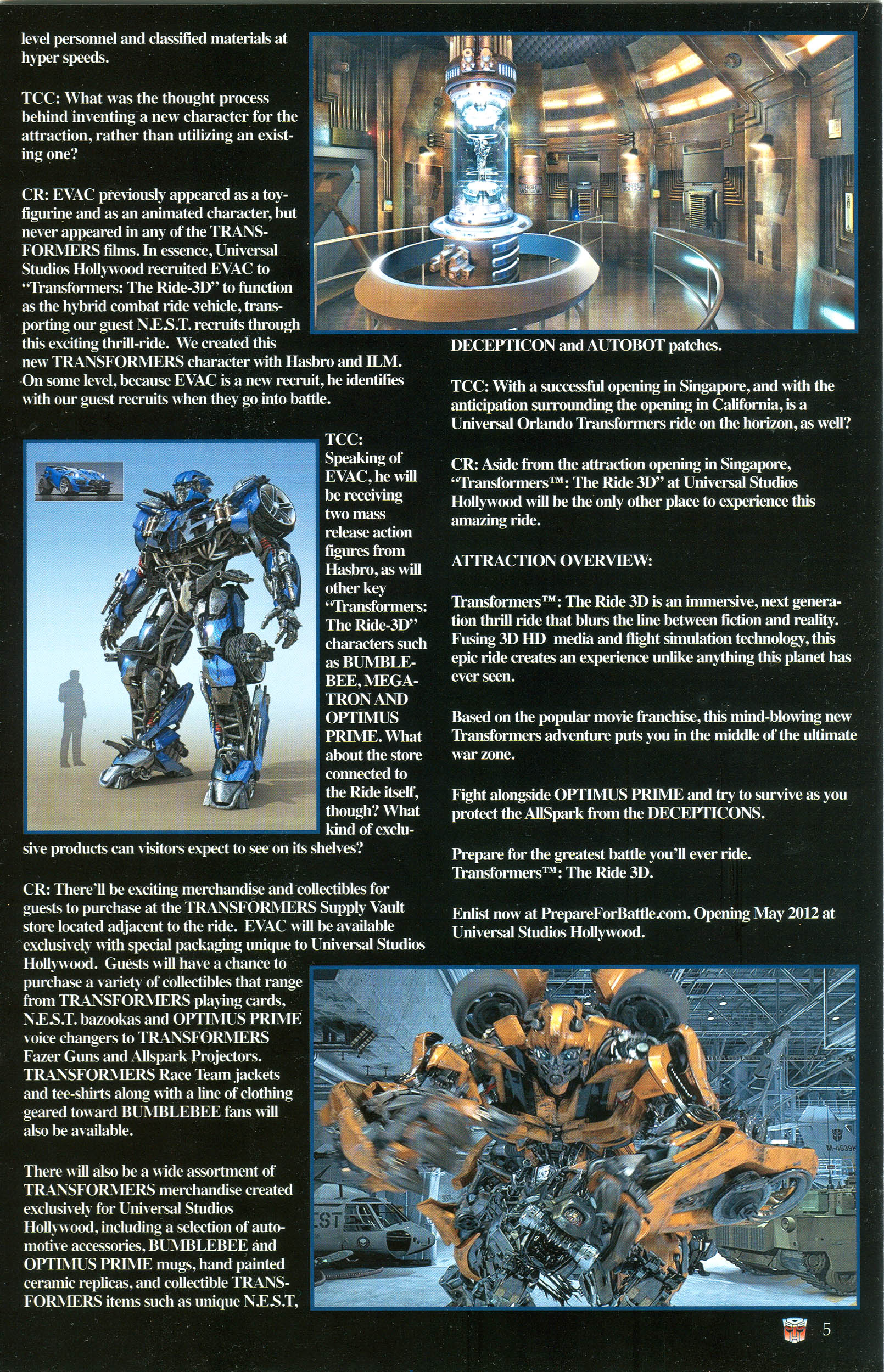 Read online Transformers: Collectors' Club comic -  Issue #44 - 5