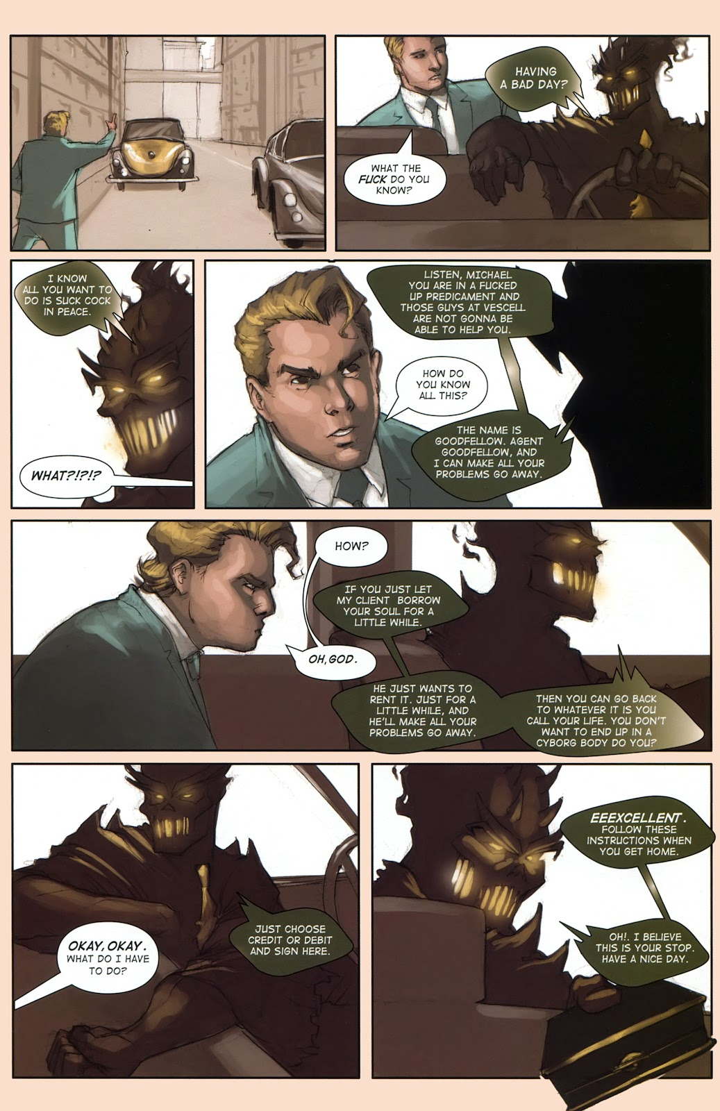 Read online Vescell comic -  Issue #1 - 25