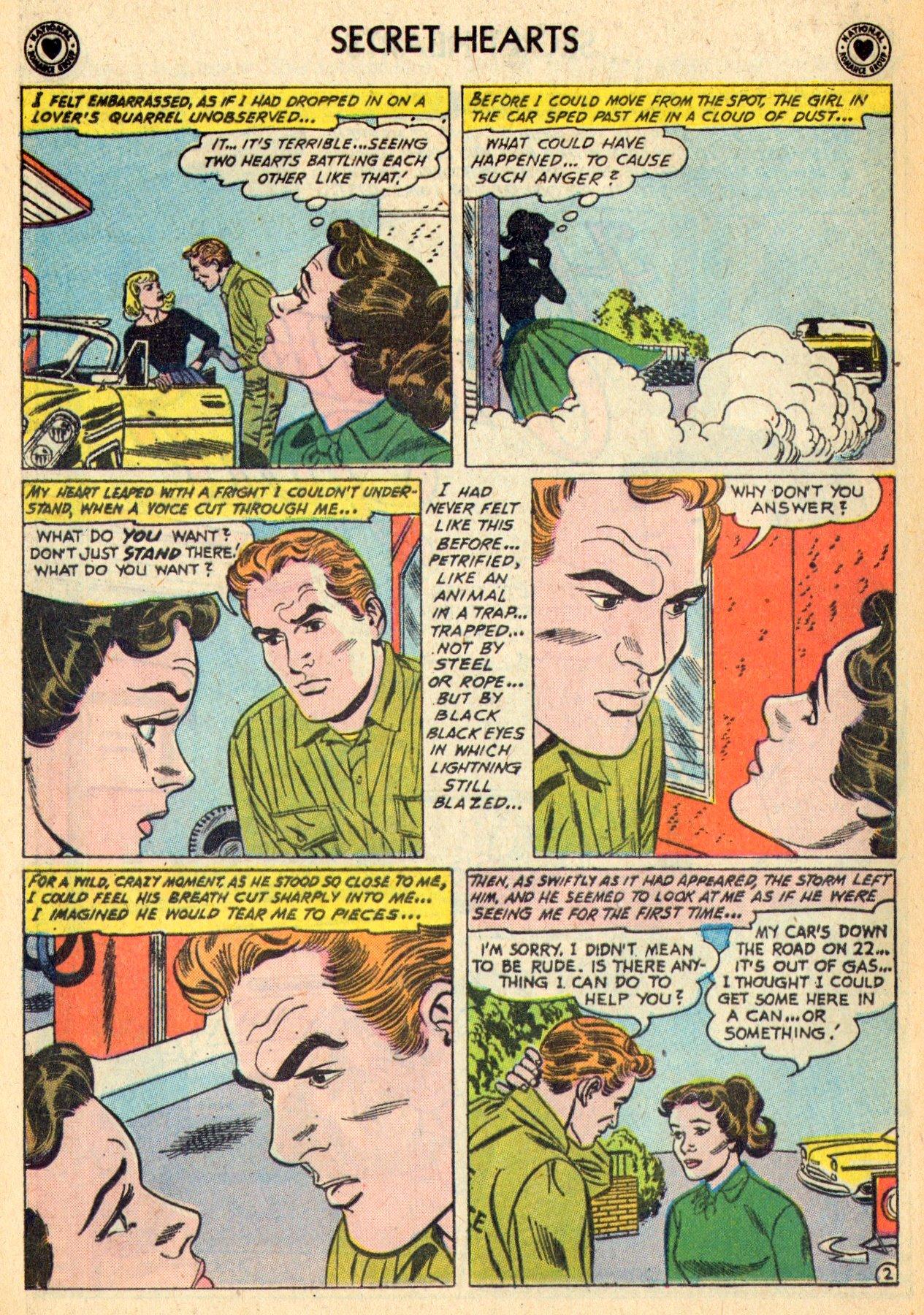 Read online Secret Hearts comic -  Issue #70 - 28