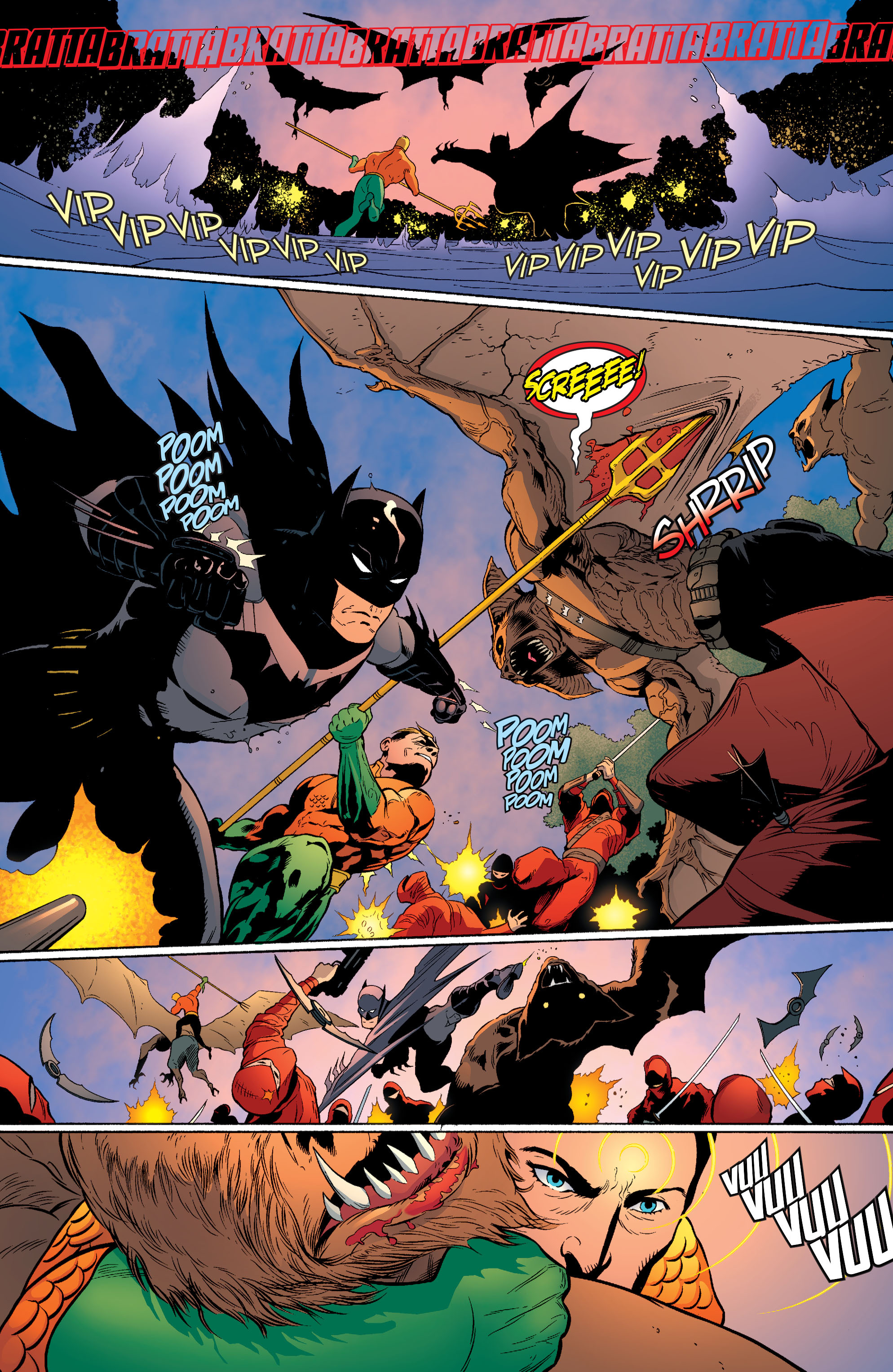 Read online Batman and Robin (2011) comic -  Issue #29 - Batman and Aquaman - 7
