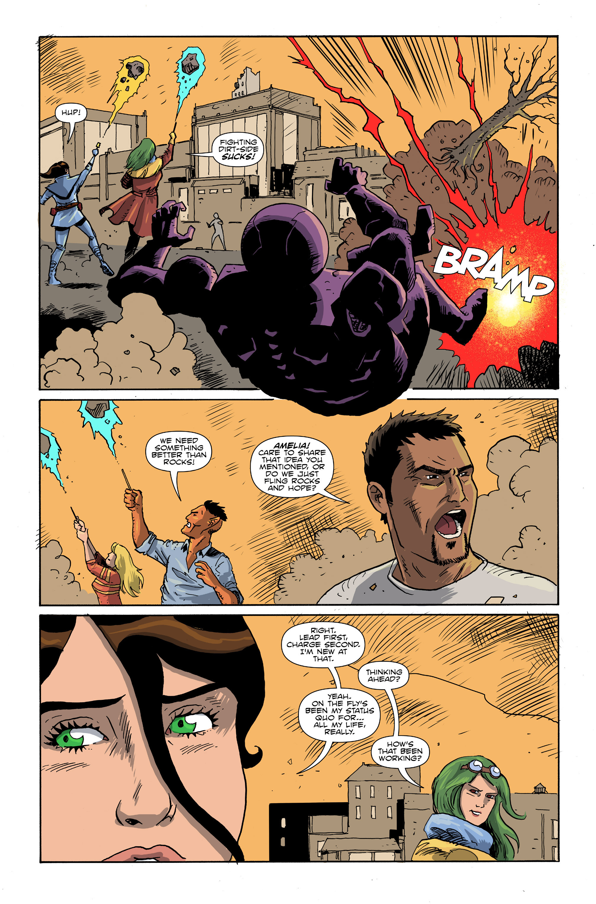 Read online Amelia Cole Versus The End of Everything comic -  Issue #26 - 5