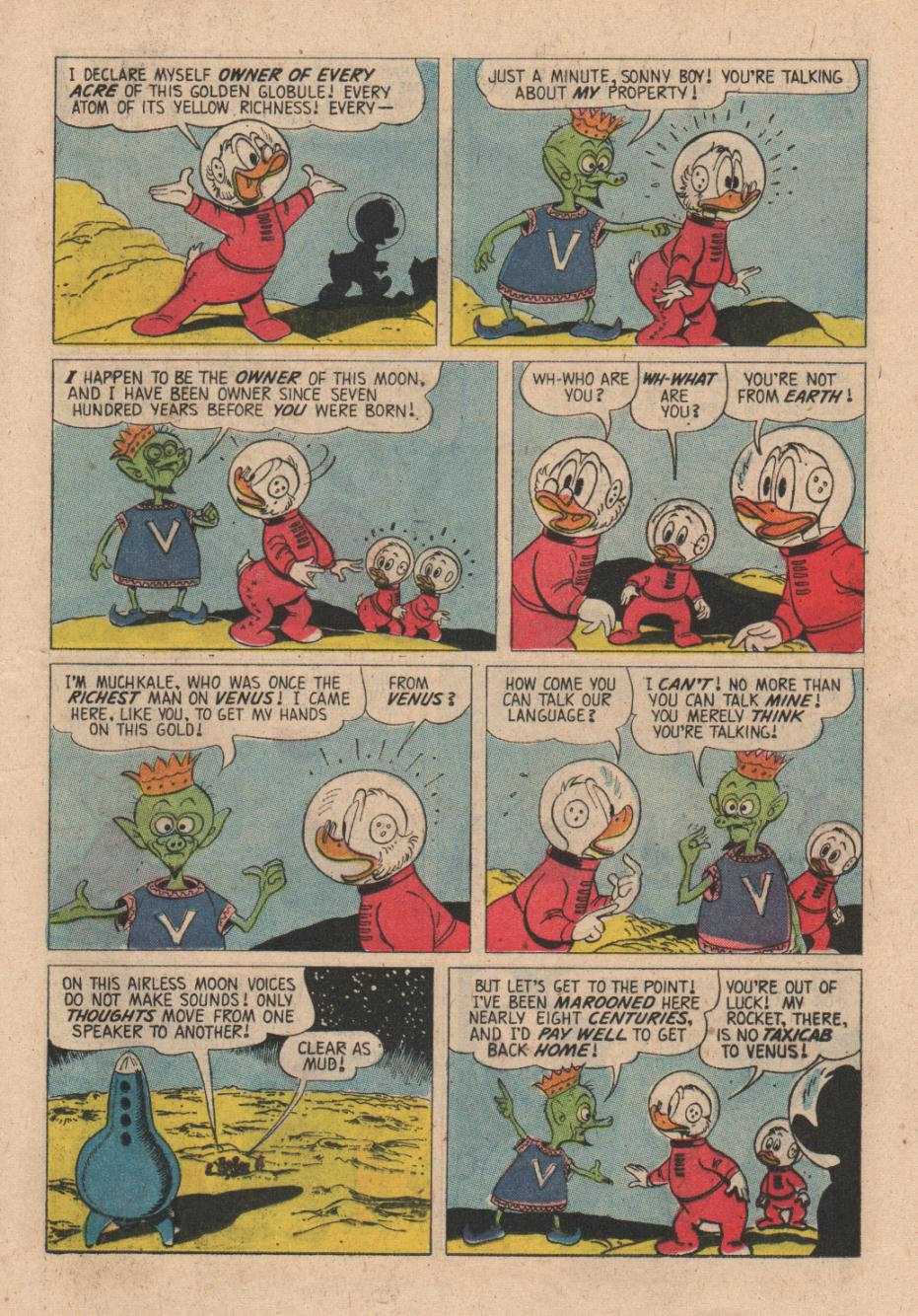 Read online Uncle Scrooge (1953) comic -  Issue #24 - 17