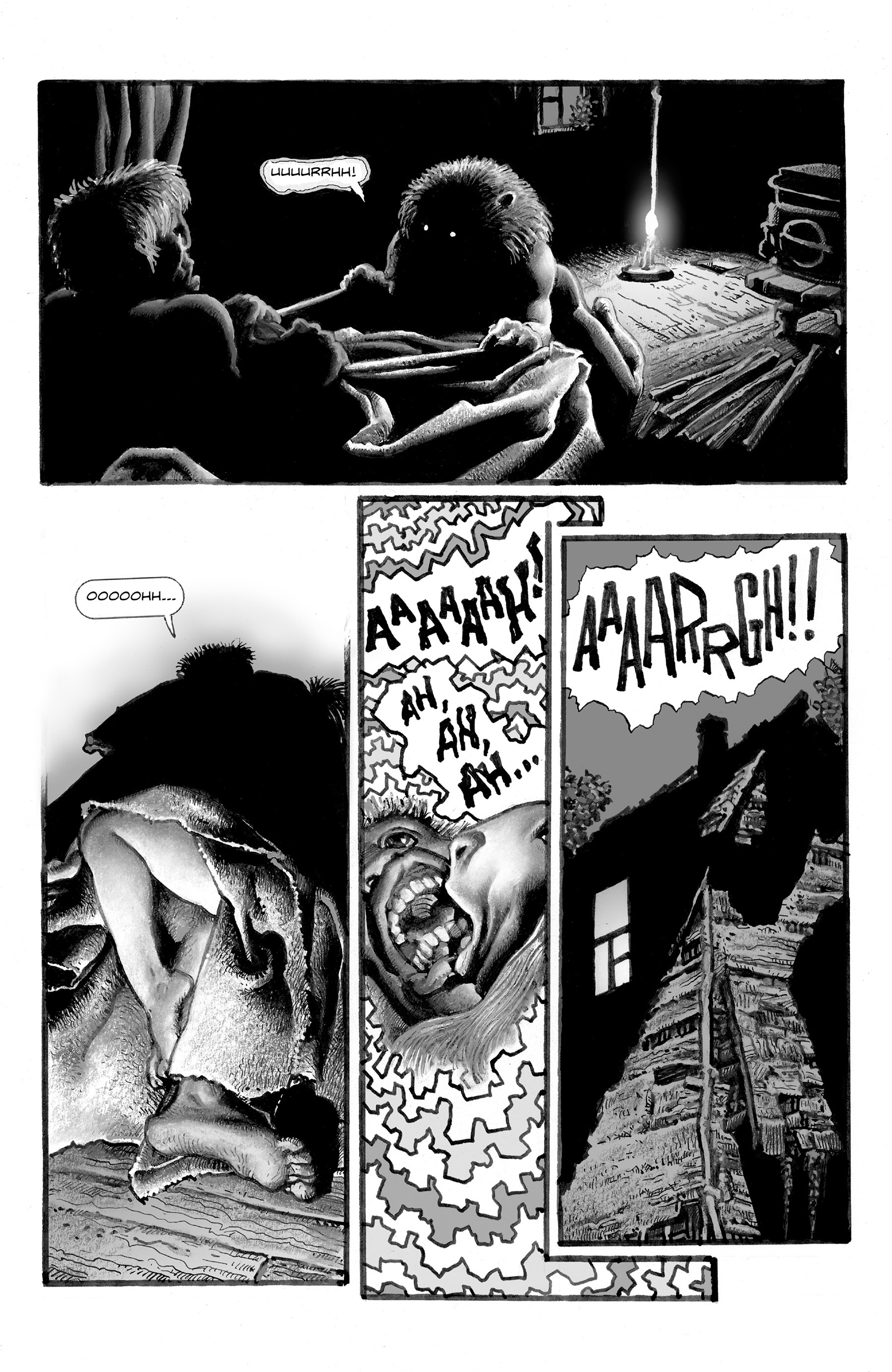 Read online Shadows on the Grave comic -  Issue #2 - 17