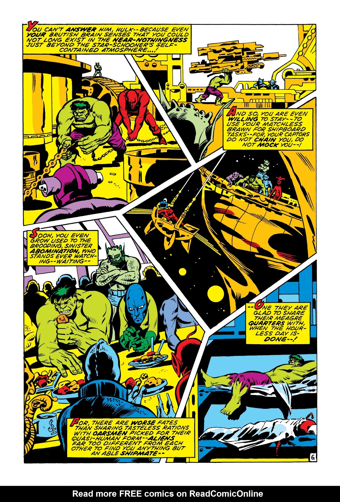 Read online Marvel Masterworks: The Incredible Hulk comic -  Issue # TPB 7 (Part 1) - 53