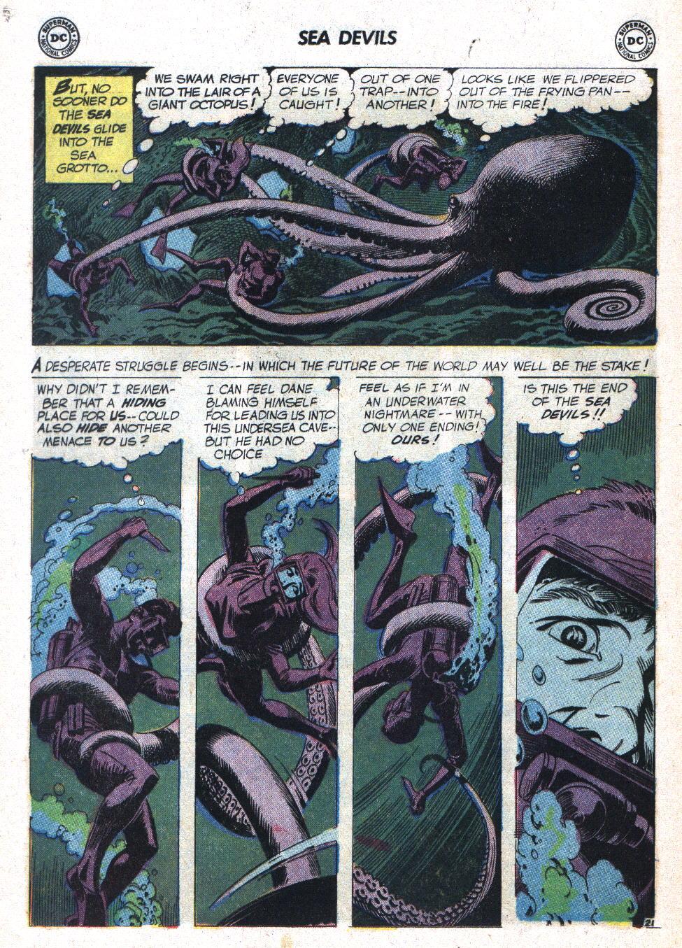 Read online Sea Devils comic -  Issue #7 - 29