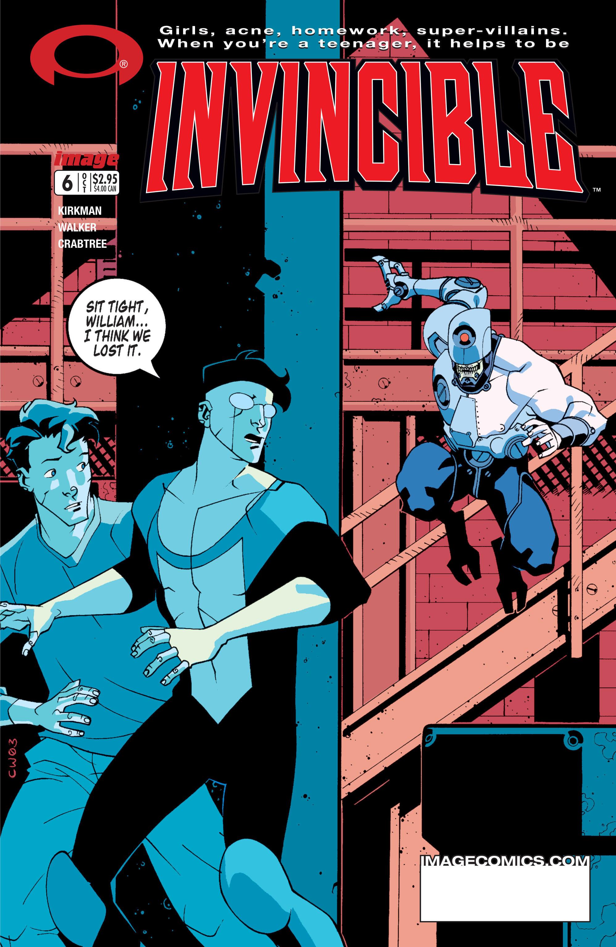 Invincible 6 Page 1