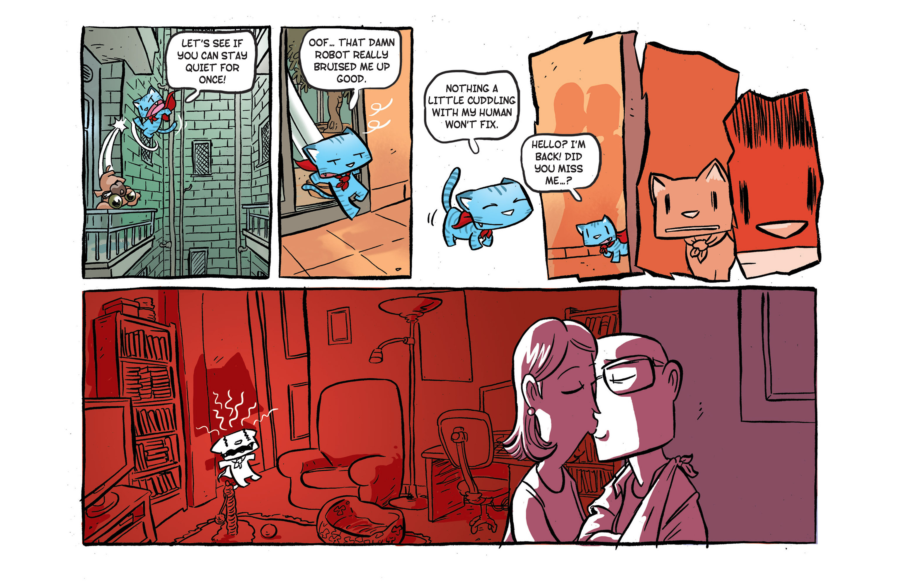 Read online Ultracat comic -  Issue #3 - 8