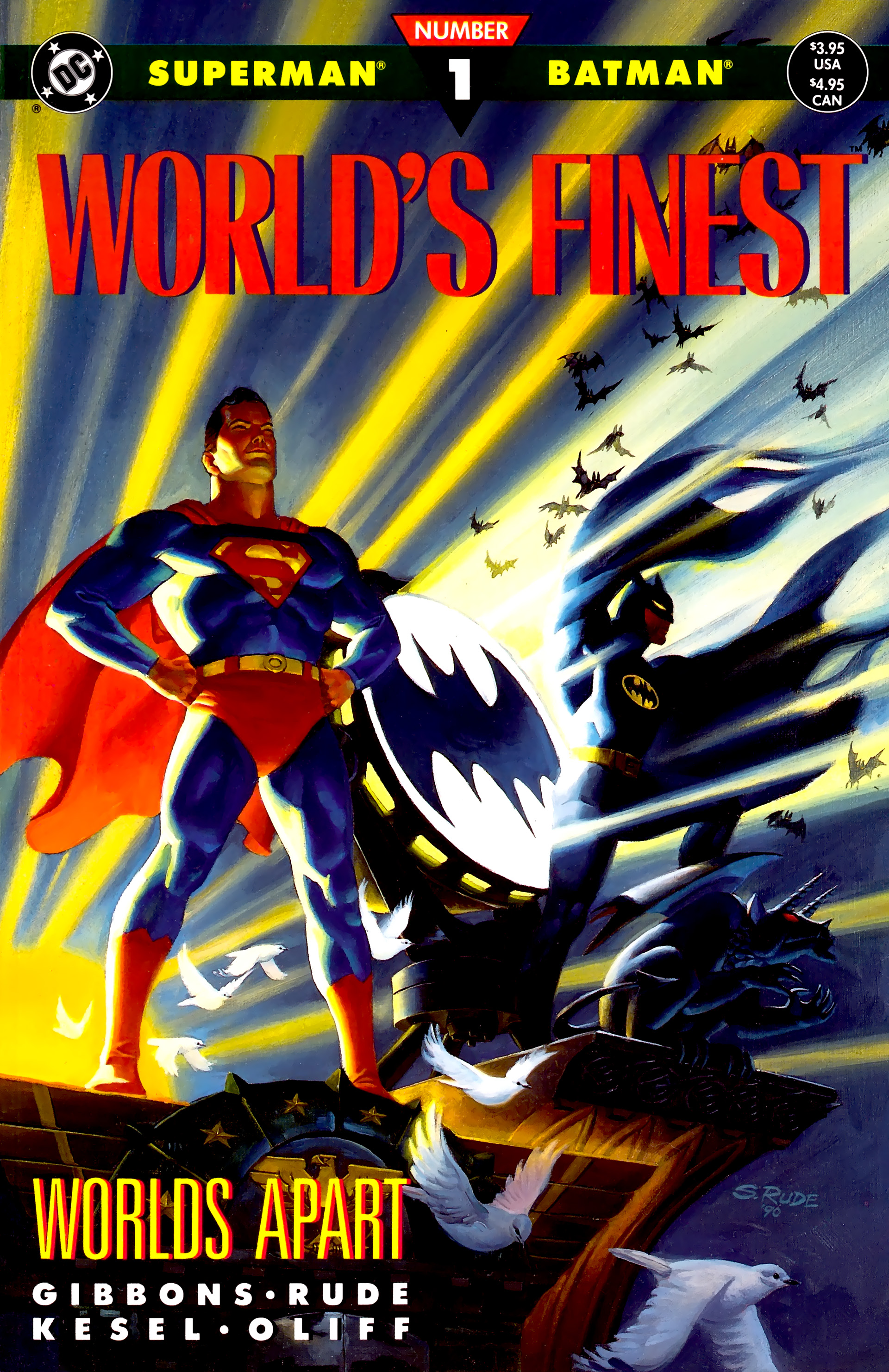 Read online World's Finest (1990) comic -  Issue #1 - 1