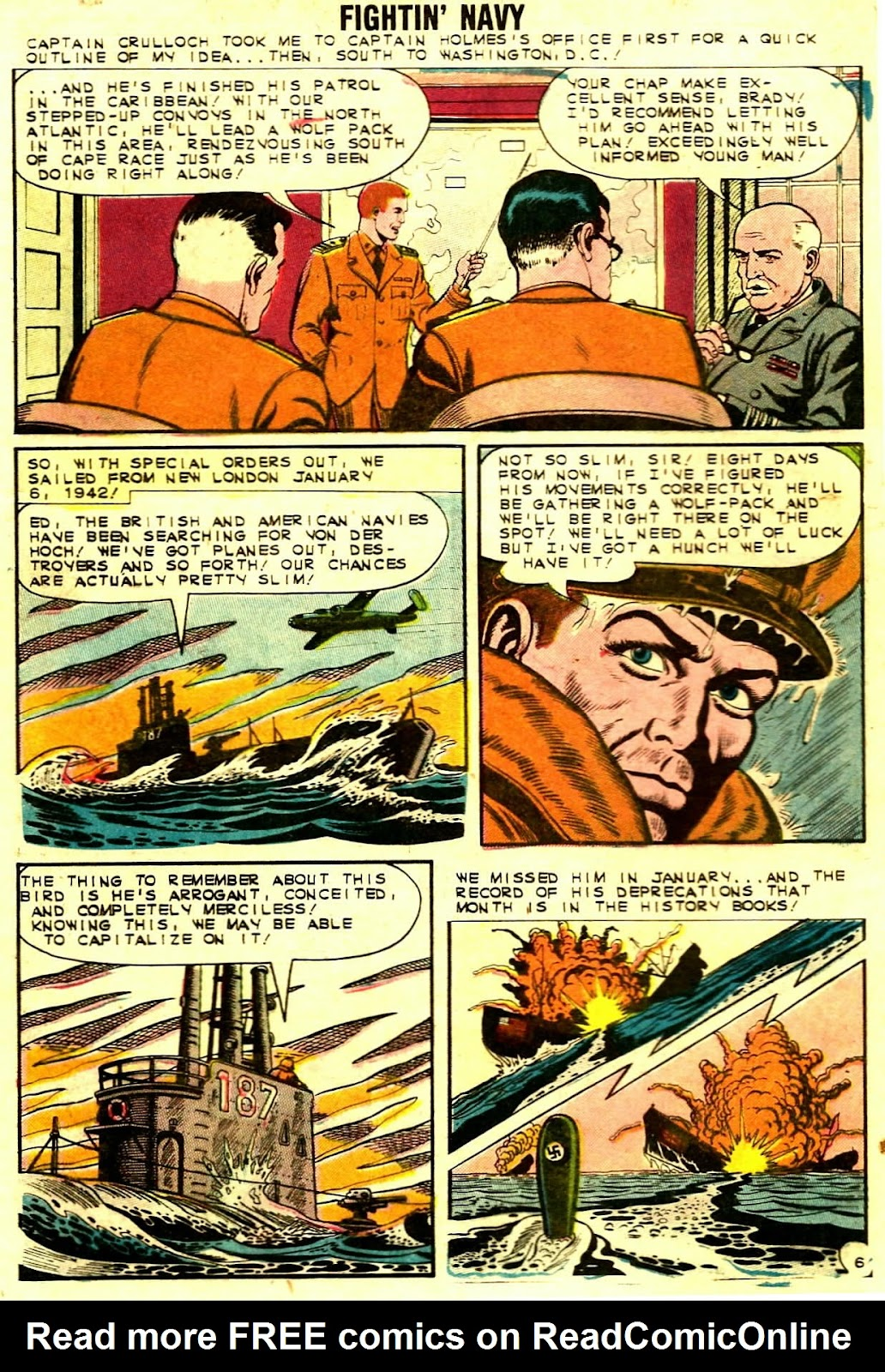 Read online Fightin' Navy comic -  Issue #109 - 28