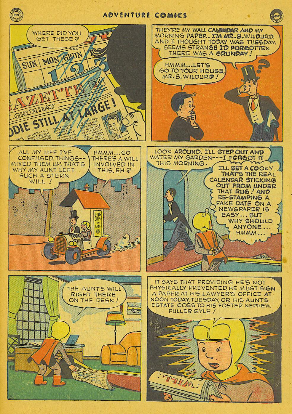 Read online Adventure Comics (1938) comic -  Issue #102 - 29
