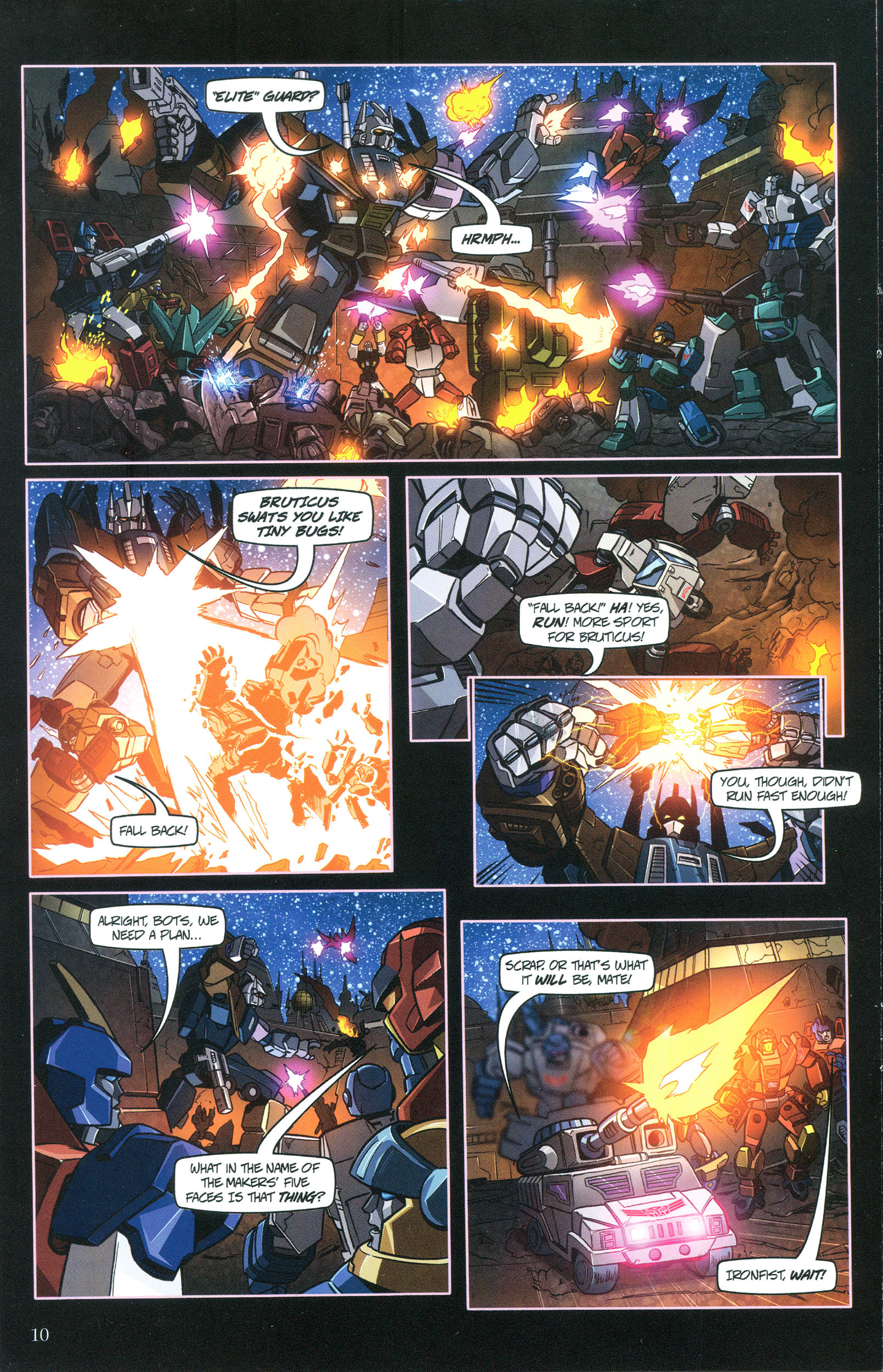 Read online Transformers: Collectors' Club comic -  Issue #36 - 10