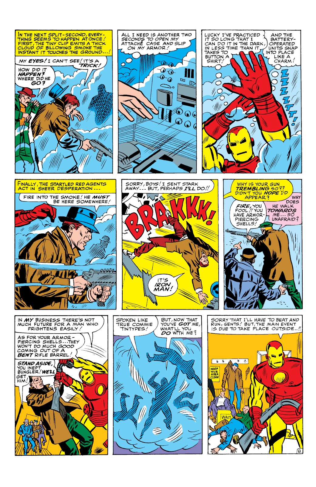 Read online Marvel Masterworks: The Invincible Iron Man comic -  Issue # TPB 2 (Part 3) - 22