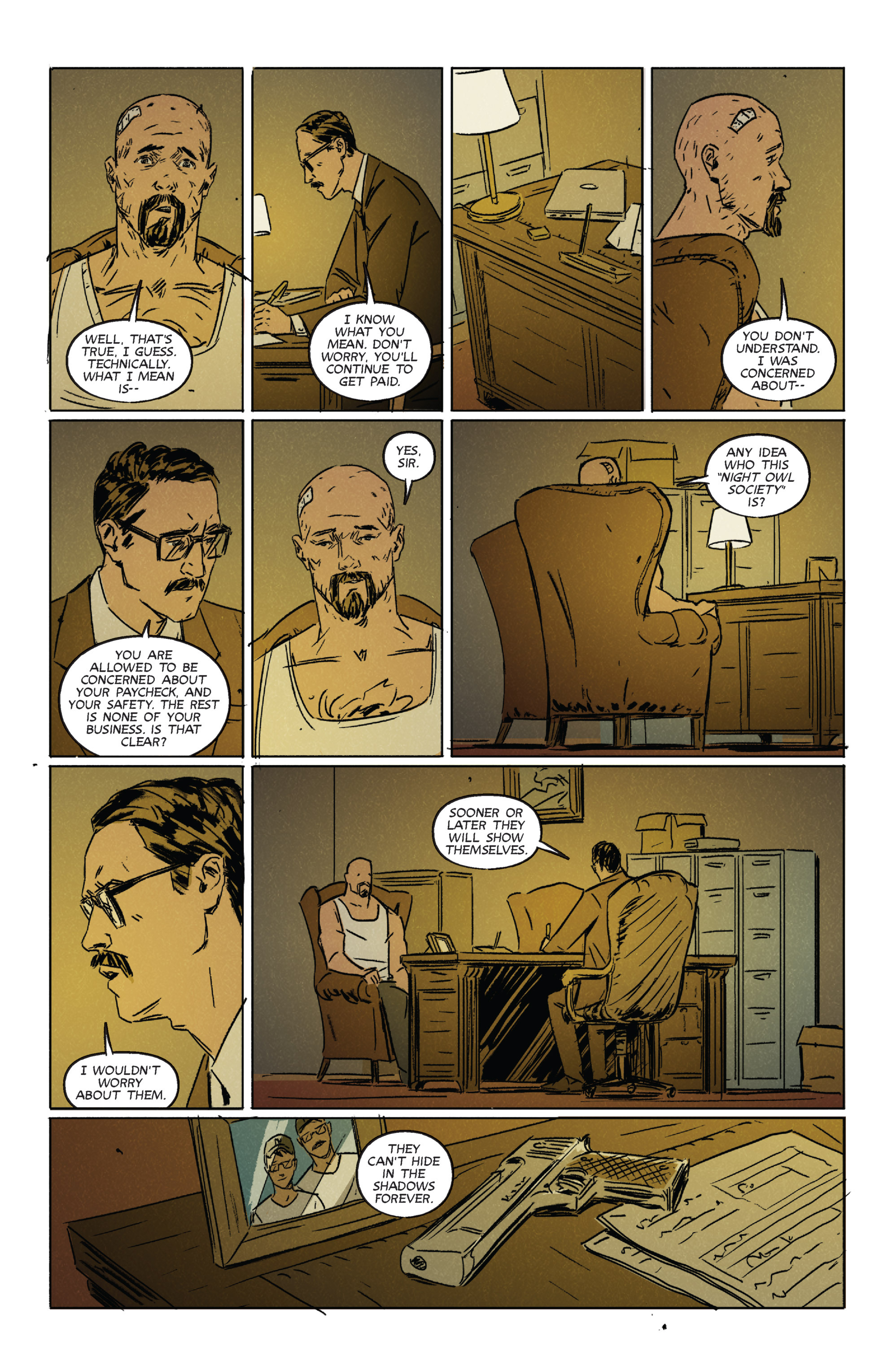 Read online Night Owl Society comic -  Issue #2 - 12