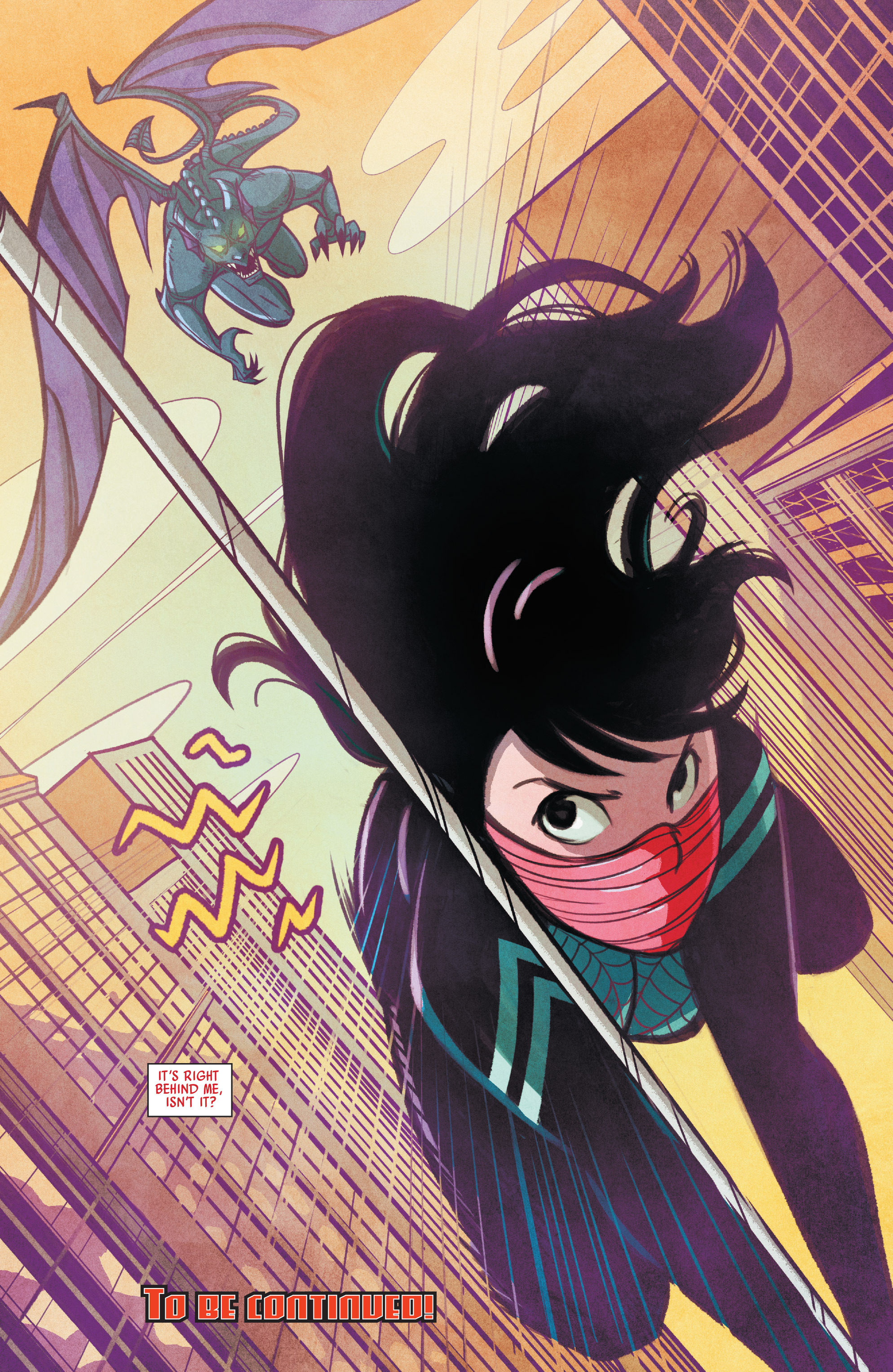 Read online Silk (2015) comic -  Issue #2 - 22