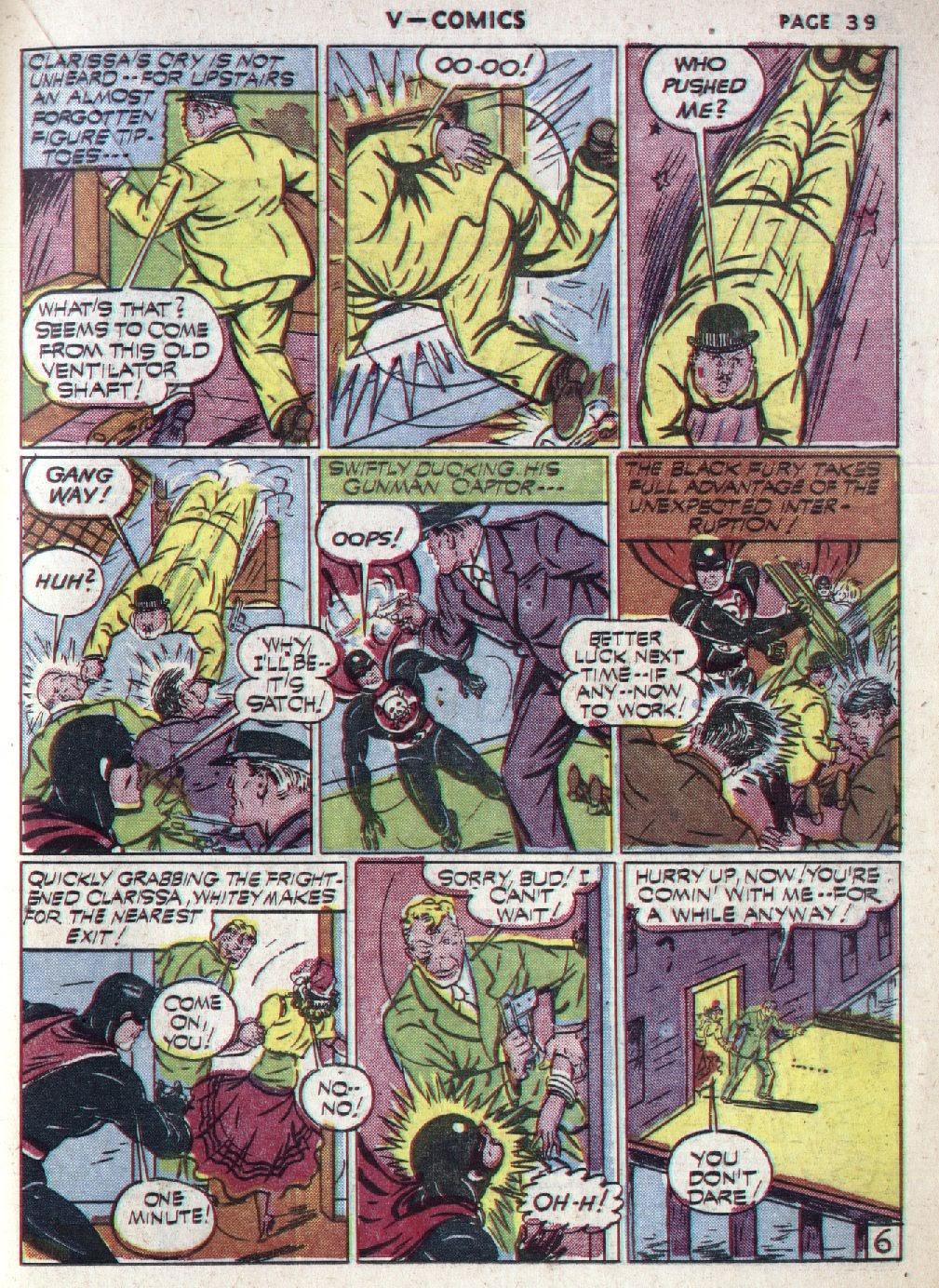 Read online V...- Comics comic -  Issue #1 - 40