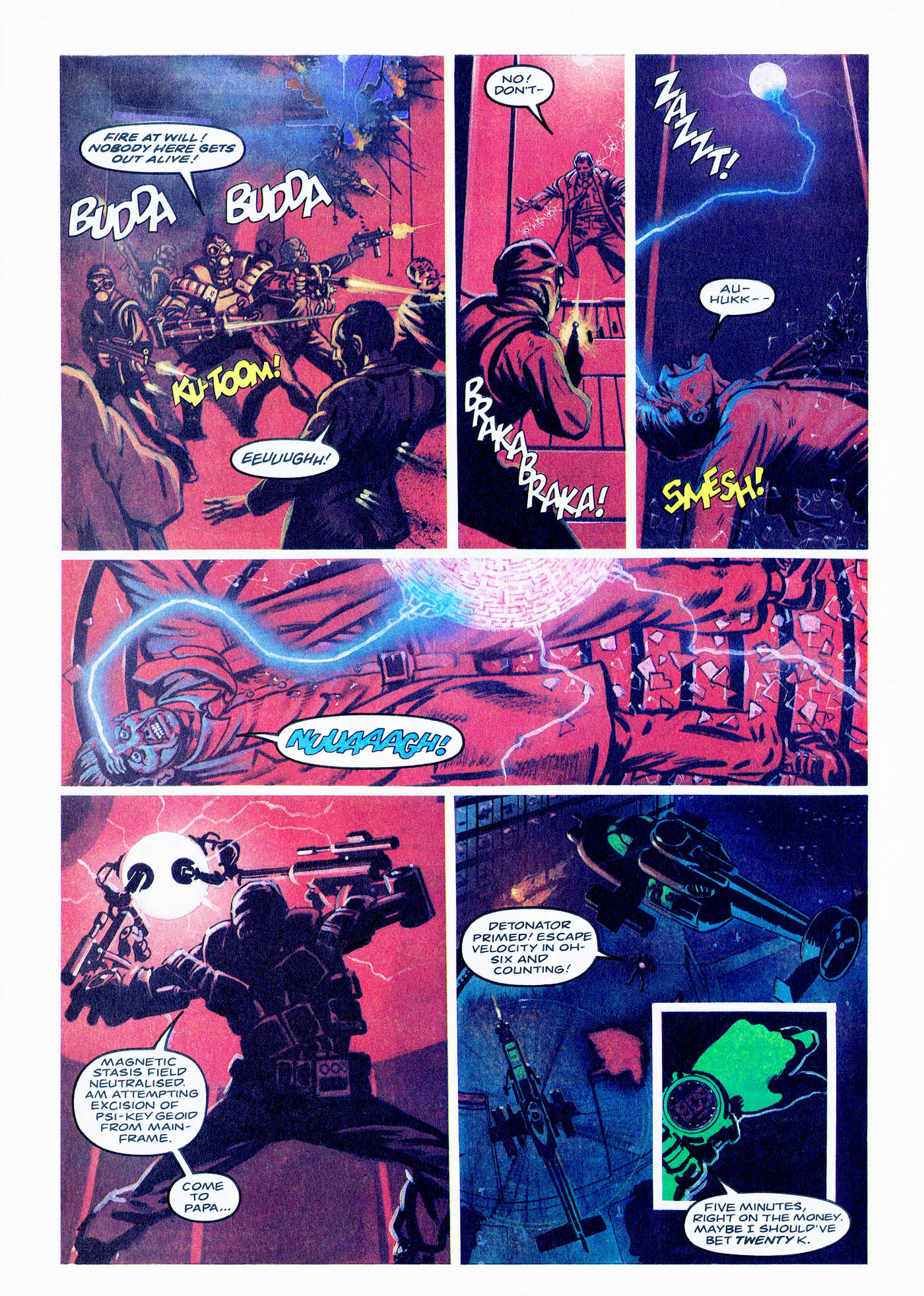 Read online Overkill comic -  Issue #2 - 21