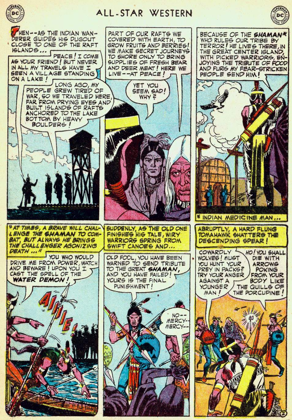 Read online All-Star Western (1951) comic -  Issue #63 - 4