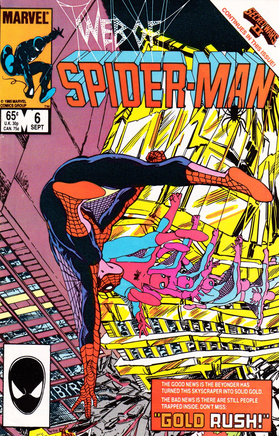Web of Spider-Man (1985) 6 Page 1