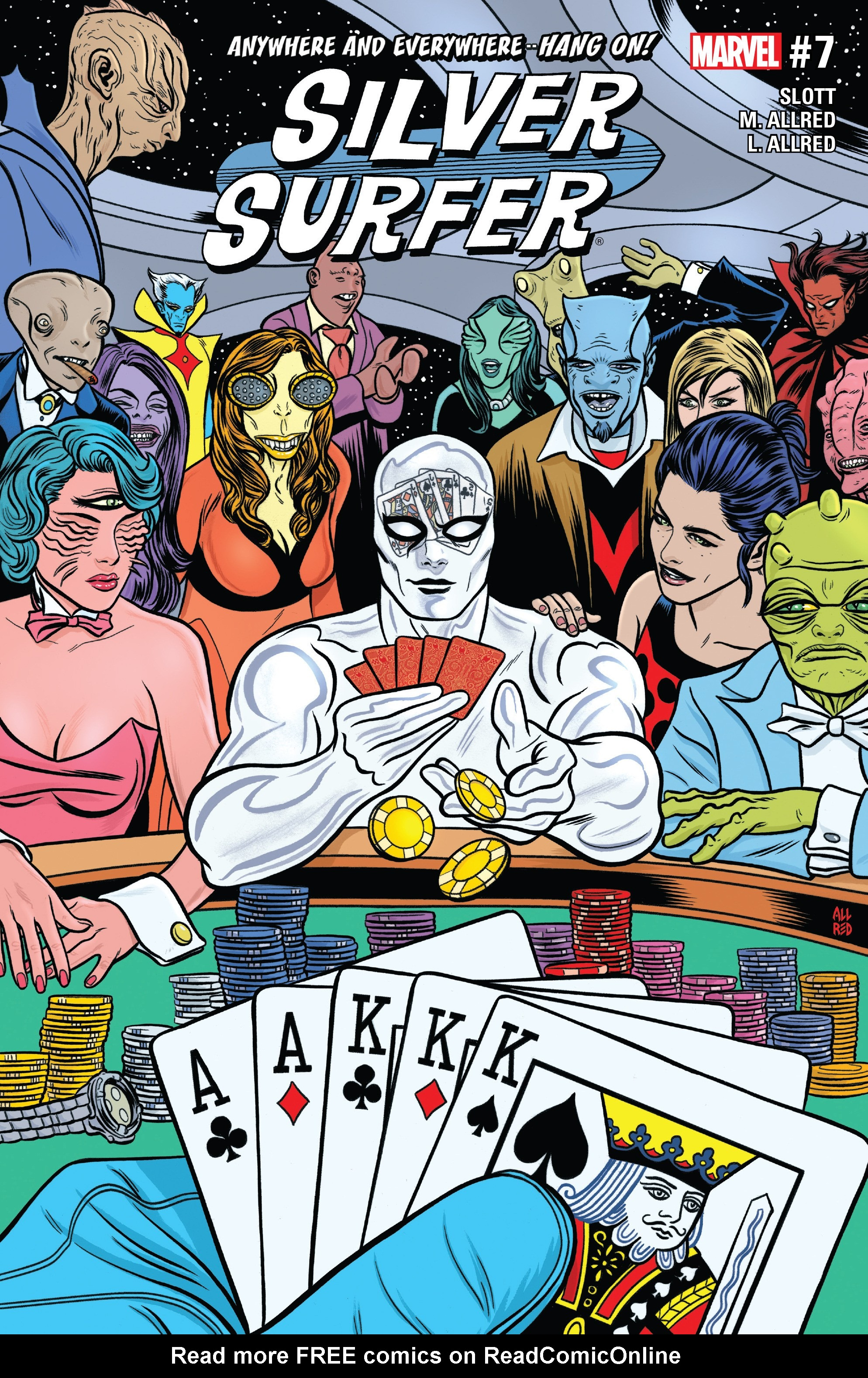 Read online Silver Surfer (2016) comic -  Issue #7 - 1