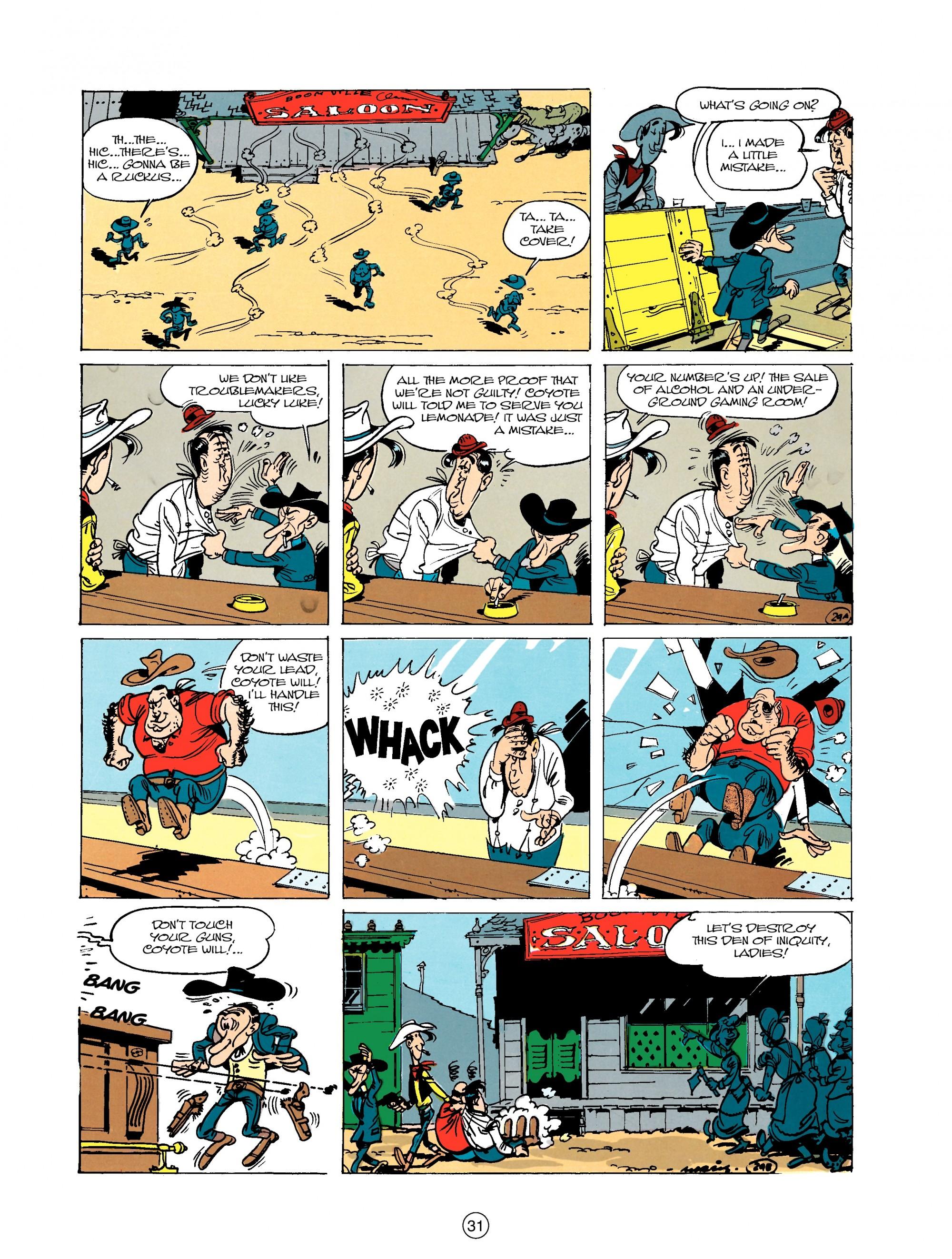 Read online A Lucky Luke Adventure comic -  Issue #20 - 31