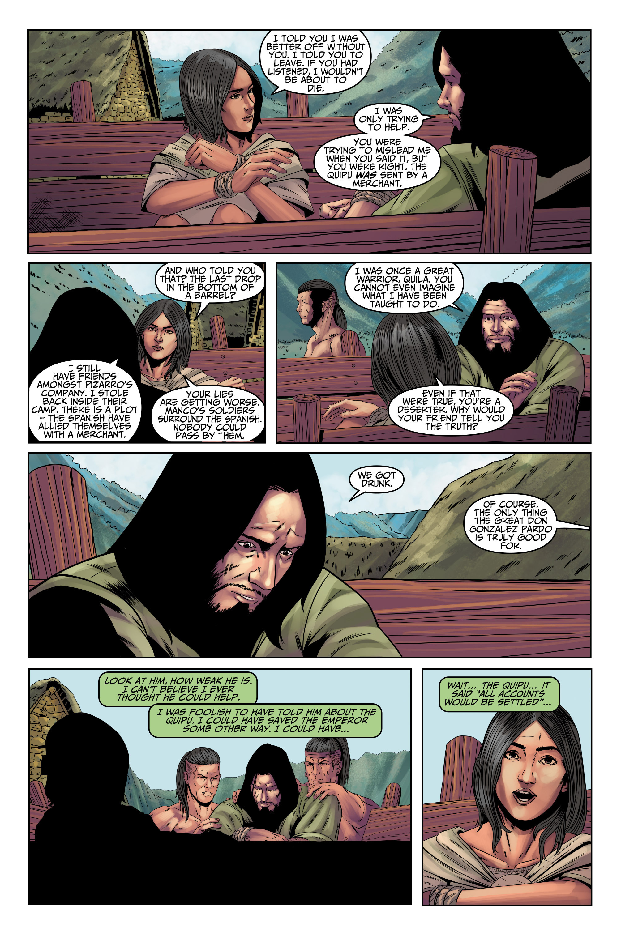 Read online Assassin's Creed (2015) comic -  Issue #9 - 21