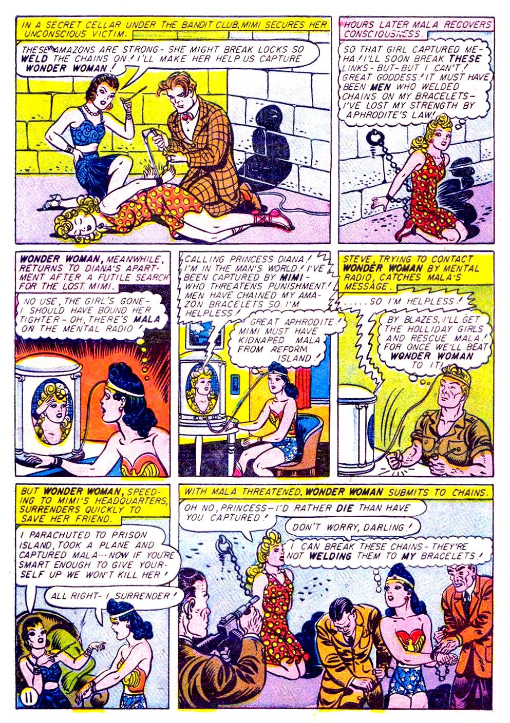 Read online Sensation (Mystery) Comics comic -  Issue #29 - 13